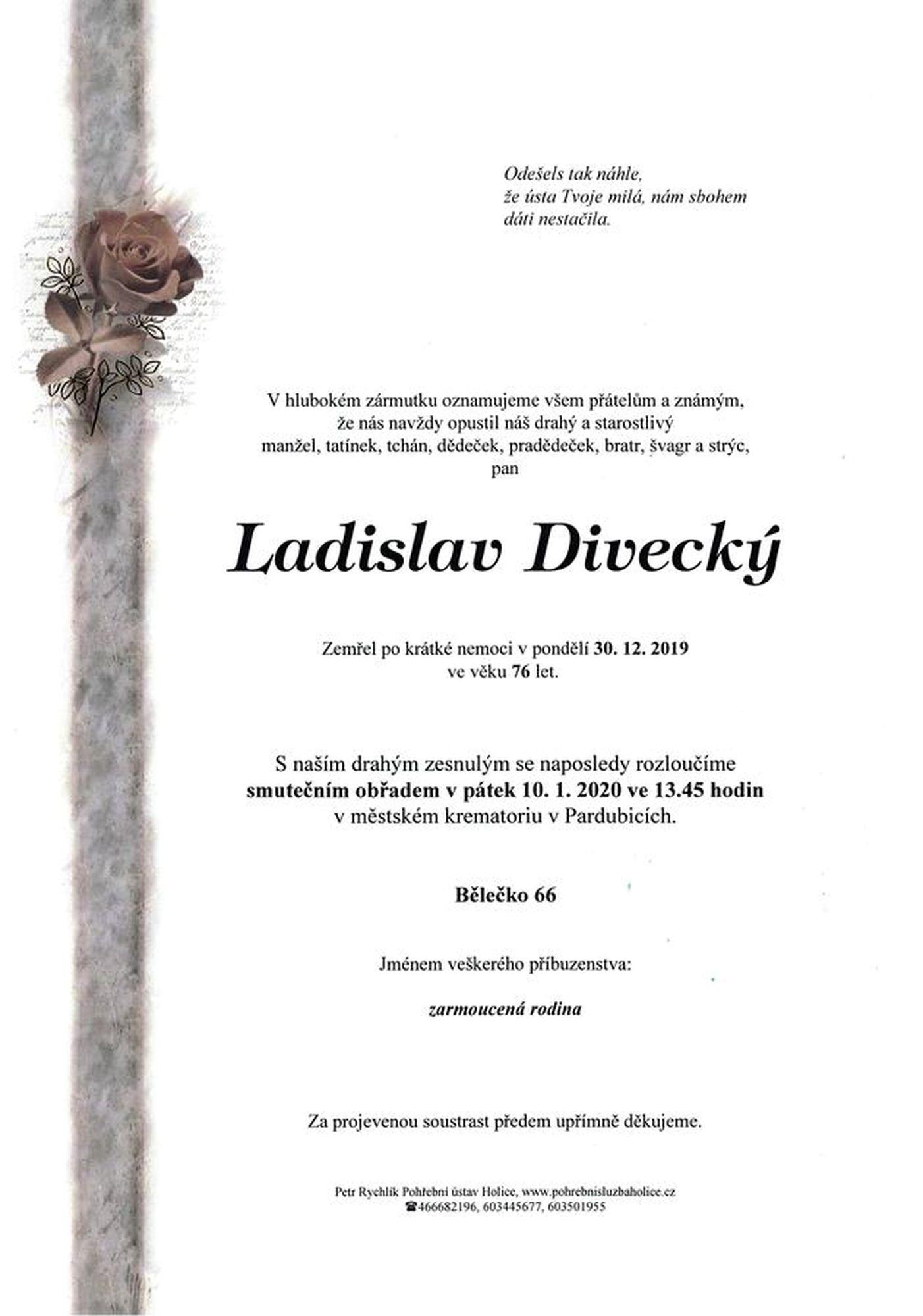 Ladislav Divecký