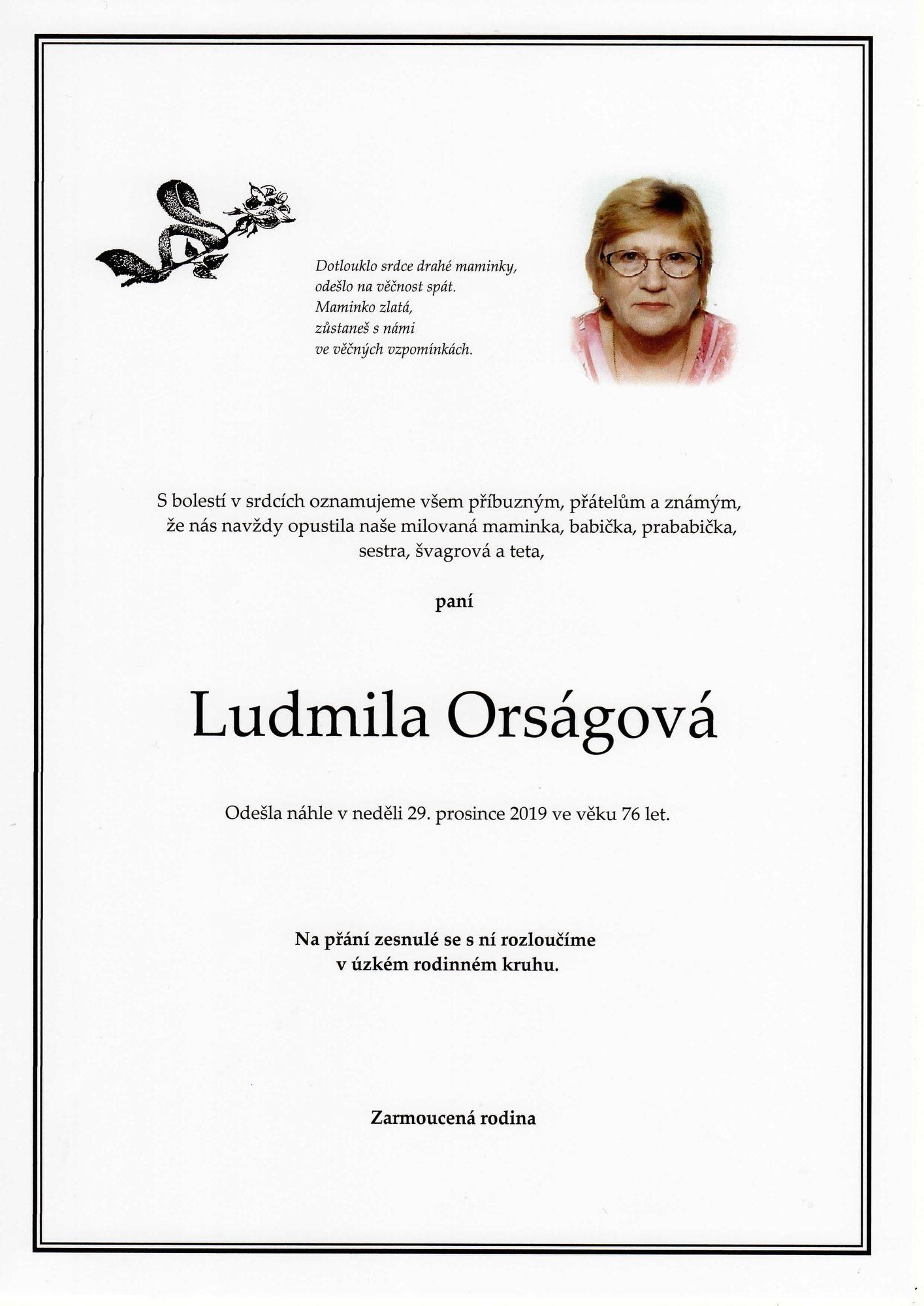 Ludmila Orságová