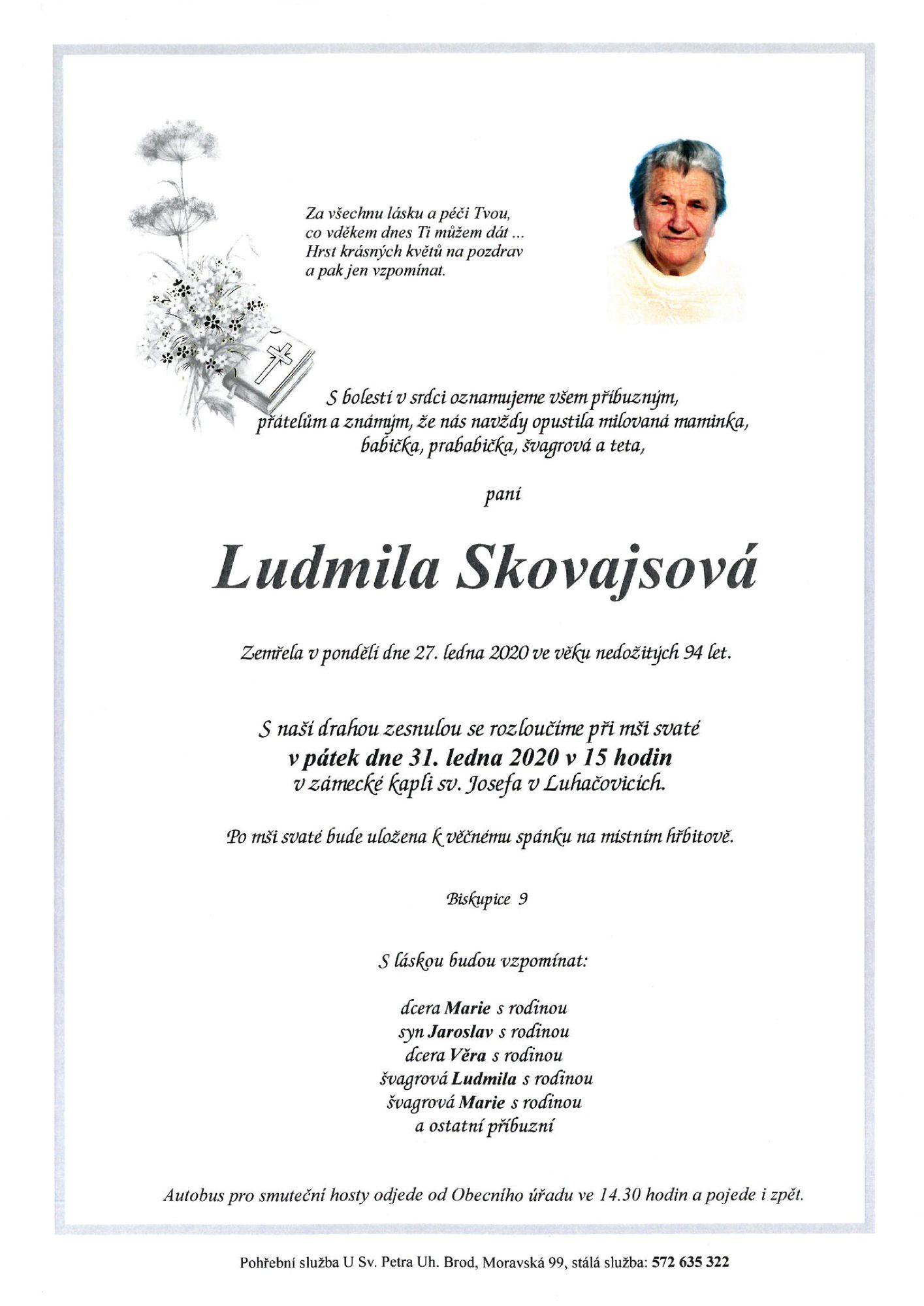 Ludmila Skovajsová