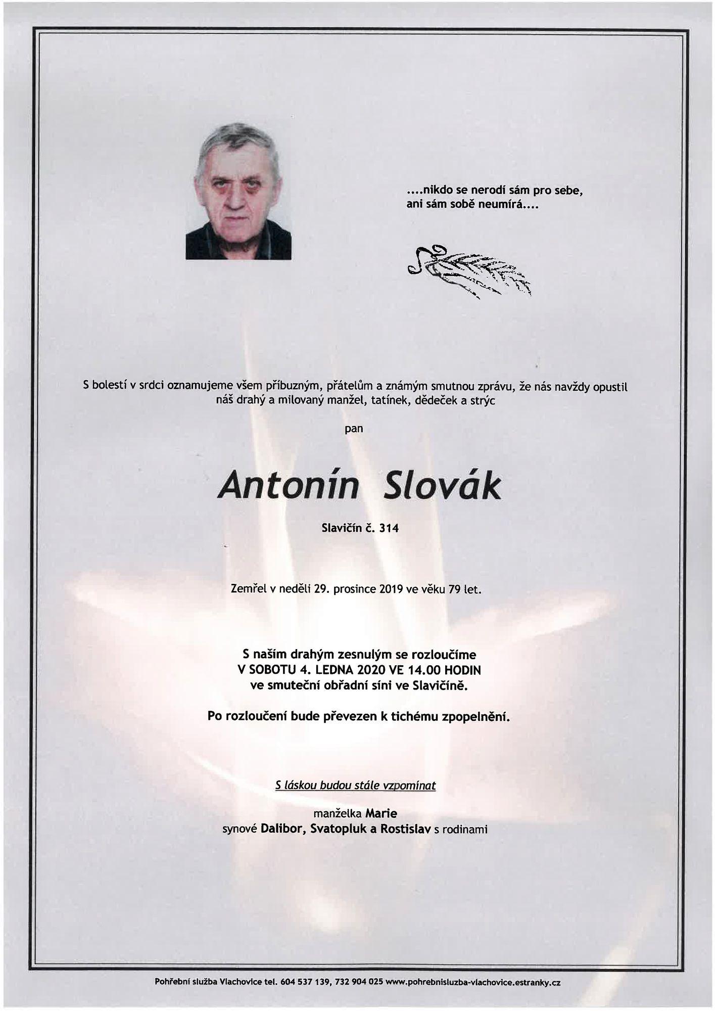 Antonín Slovák