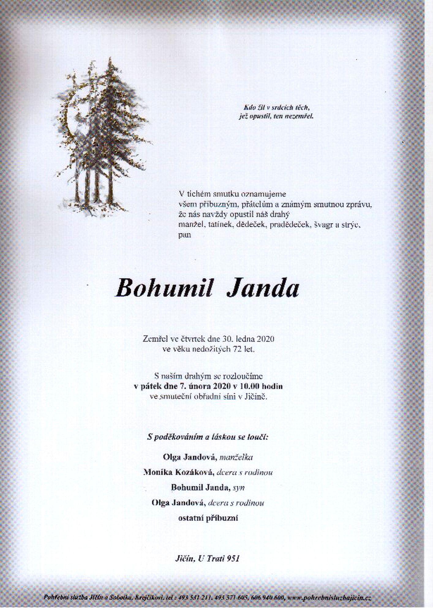 Bohumil Janda