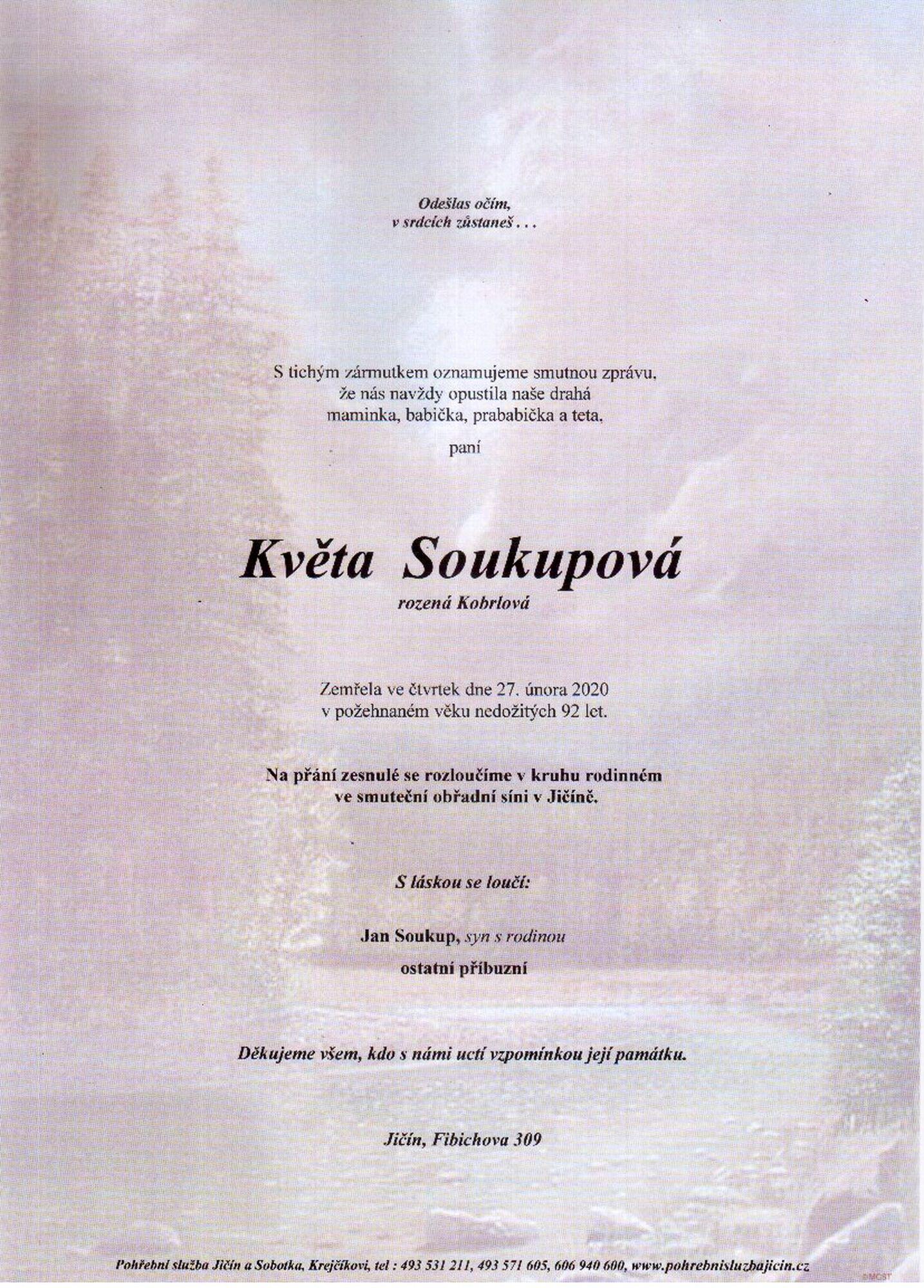 Květa Soukupová