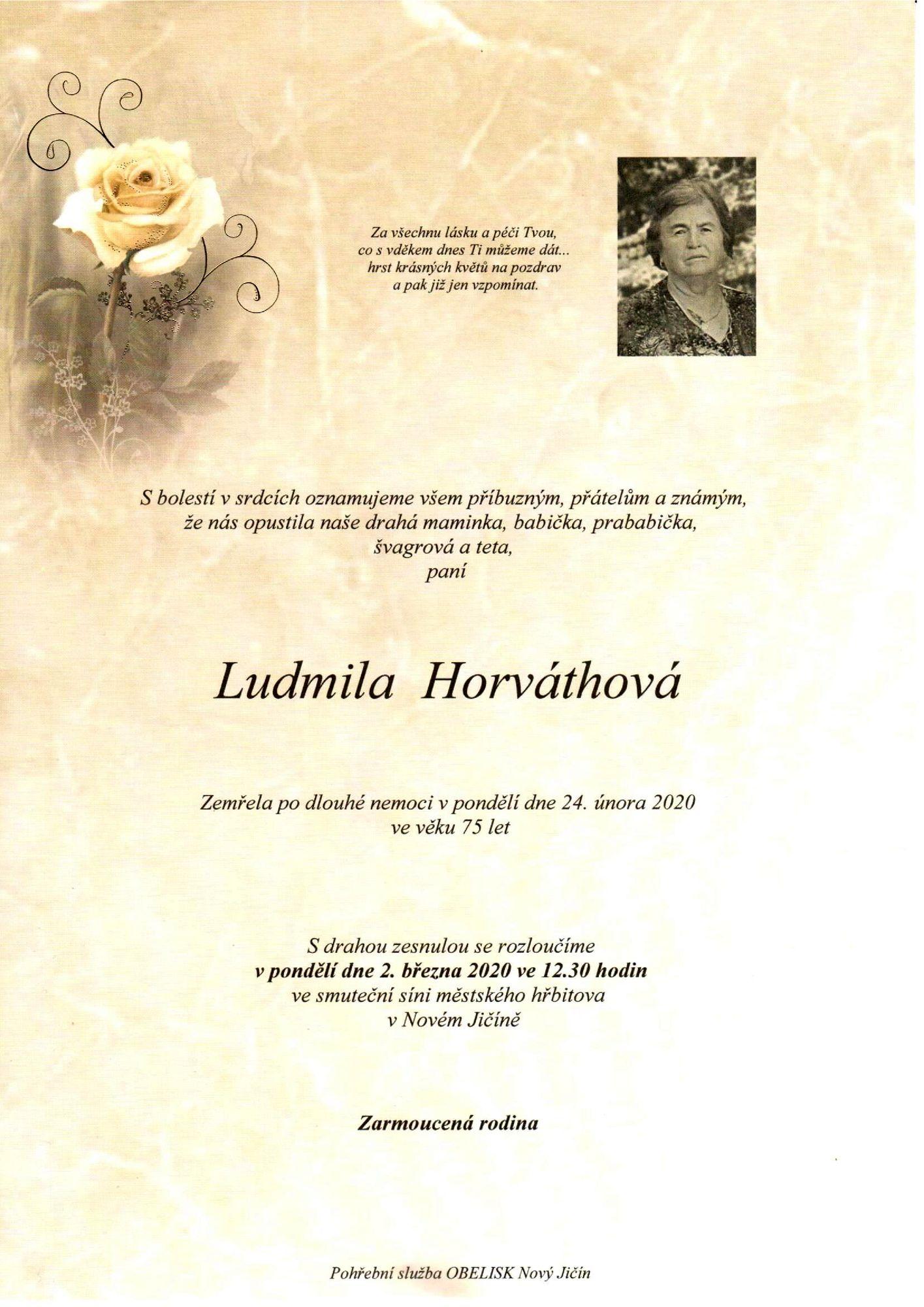 Ludmila Horváthová