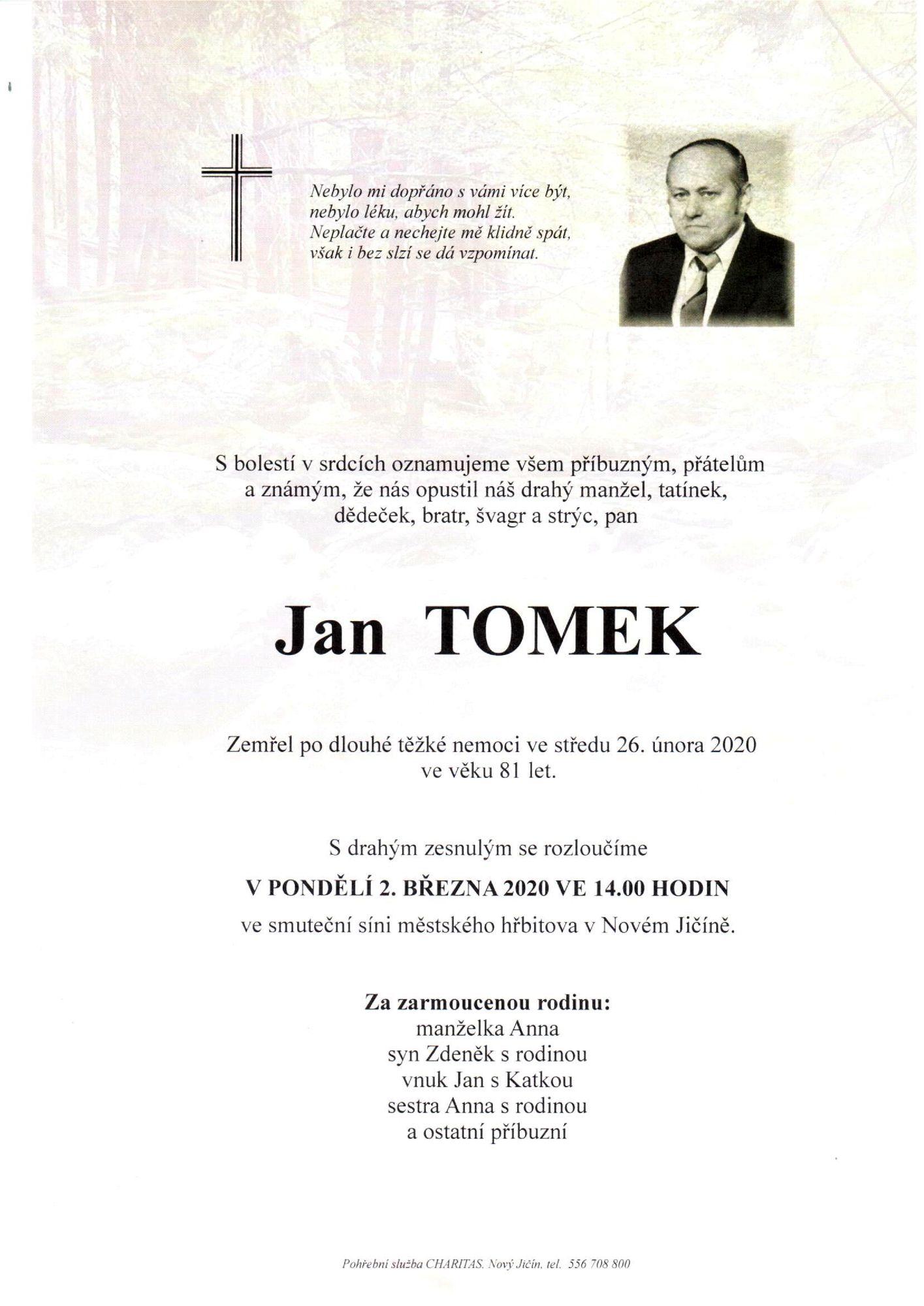 Jan Tomek