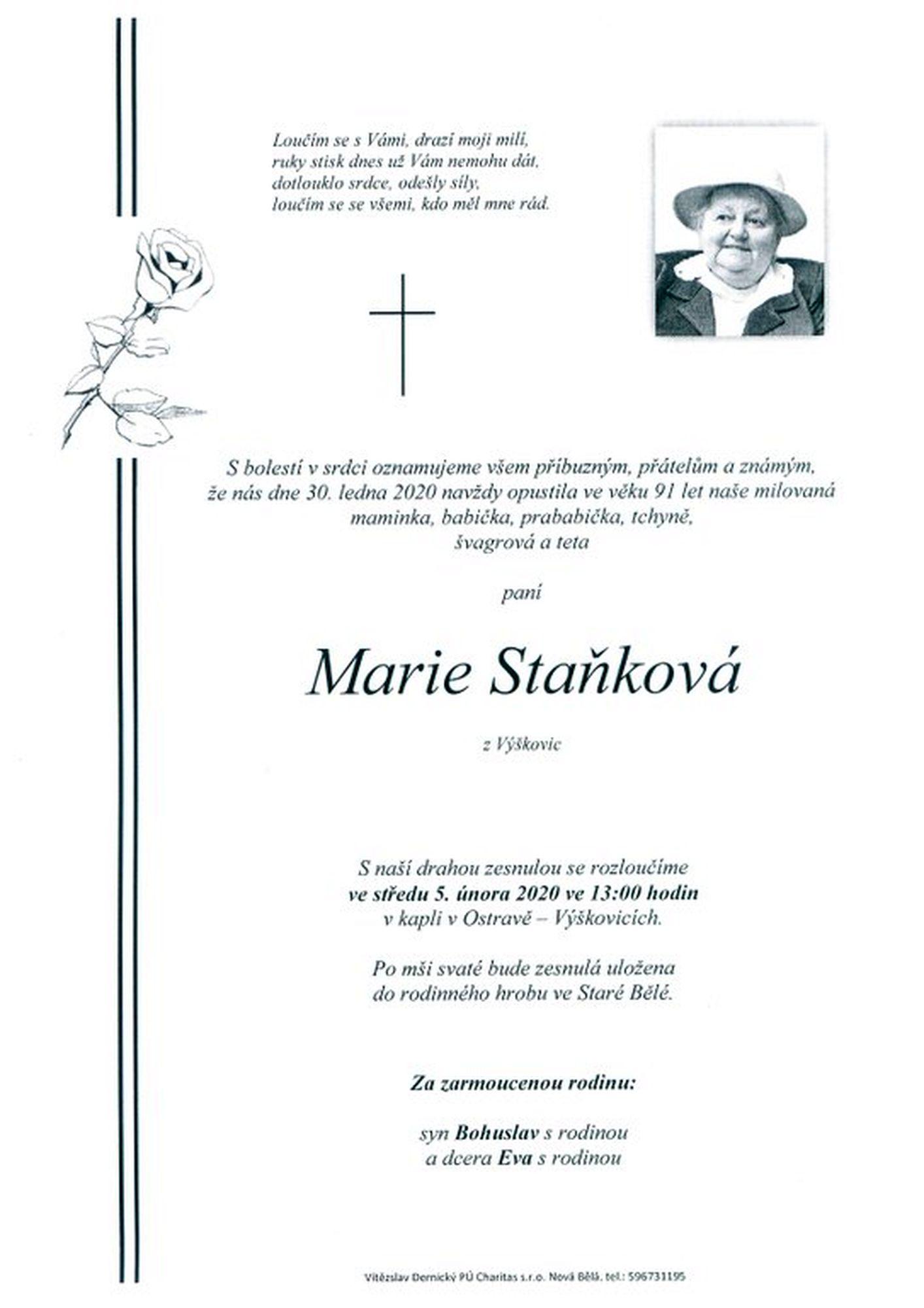 Marie Staňková