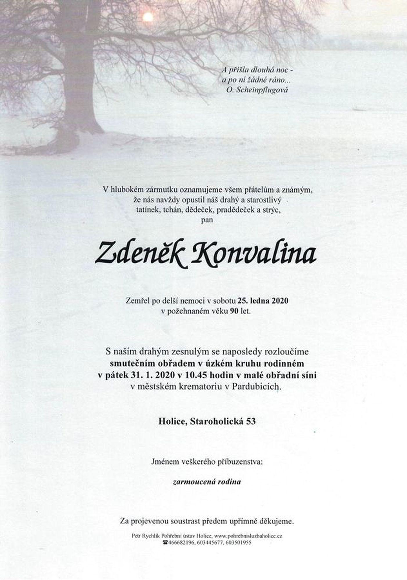 Zdeněk Konvalina