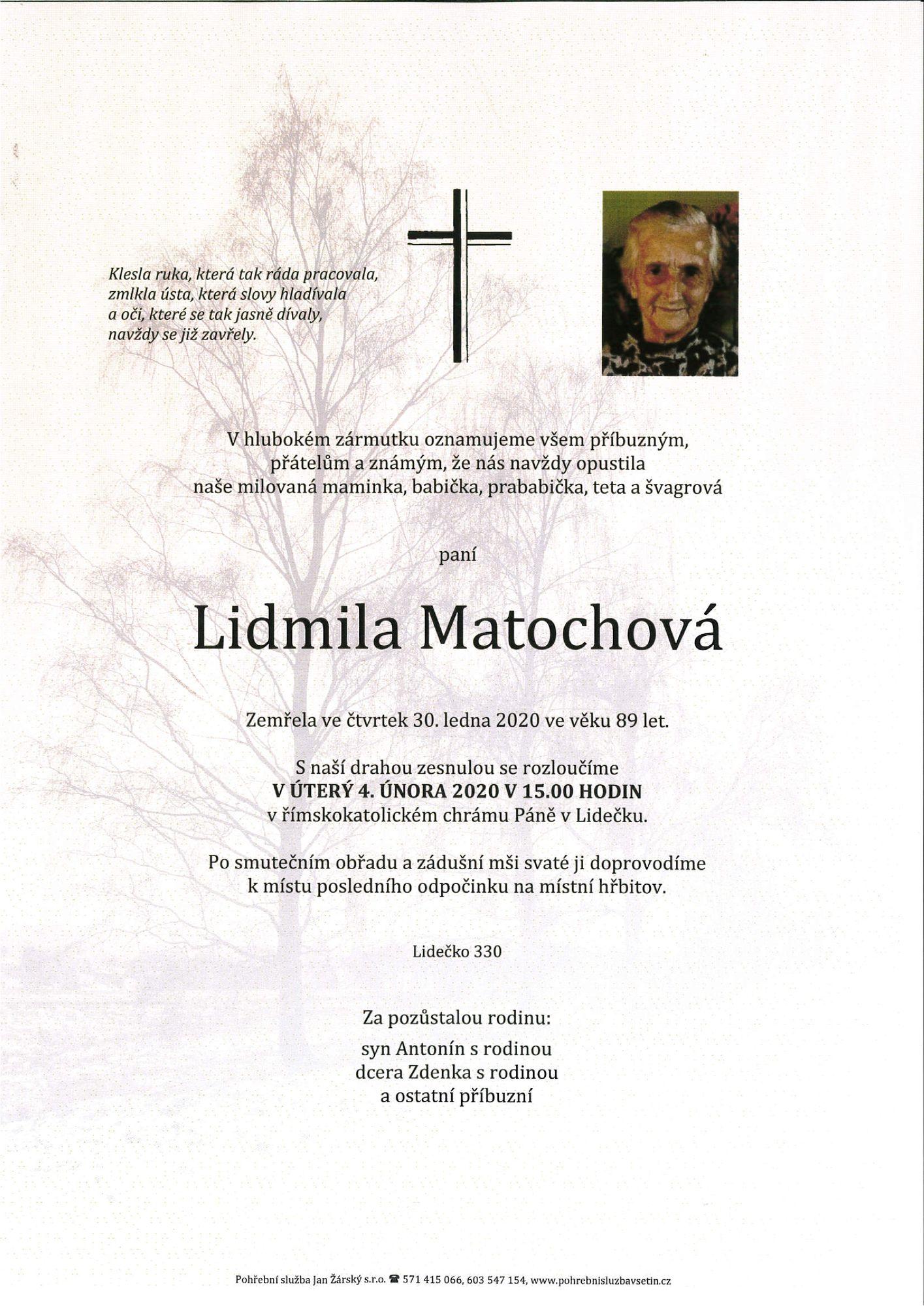 Lidmila Matochová