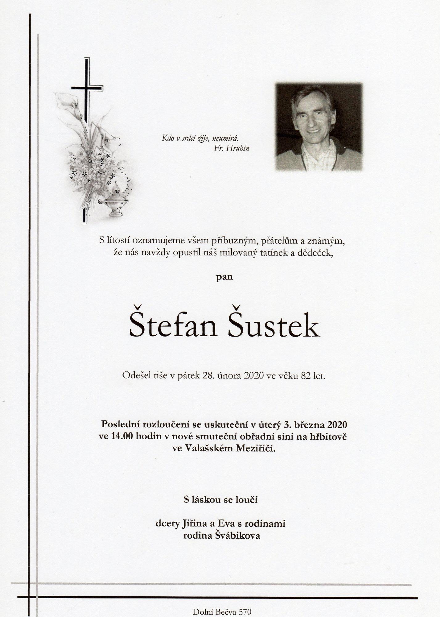 Štefan Šustek