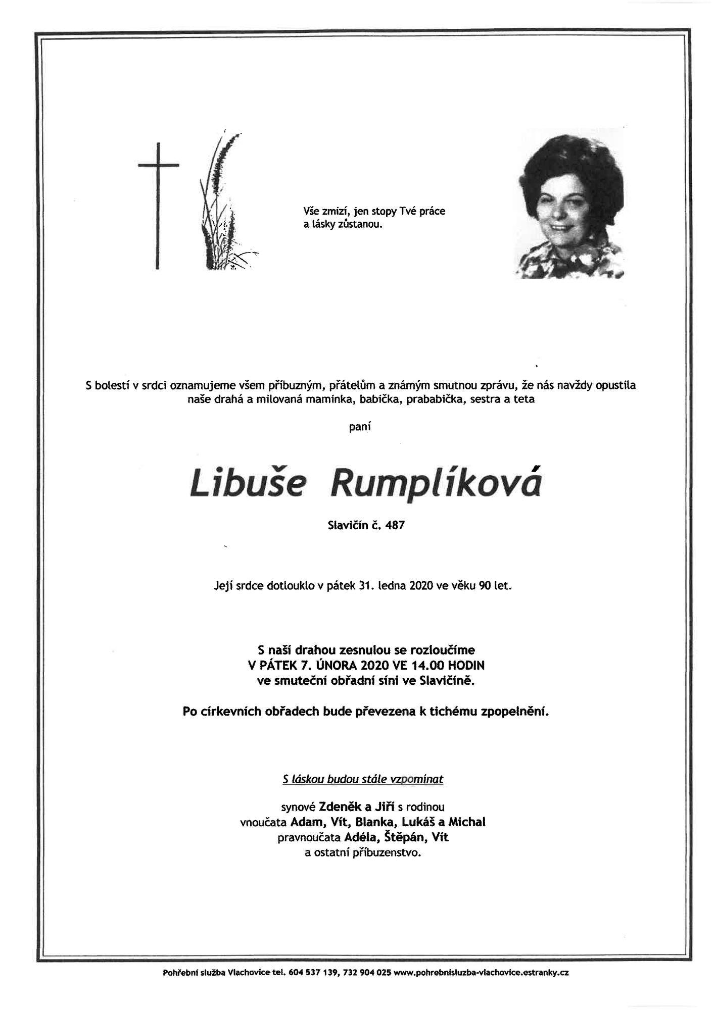 Libuše Rumplíková