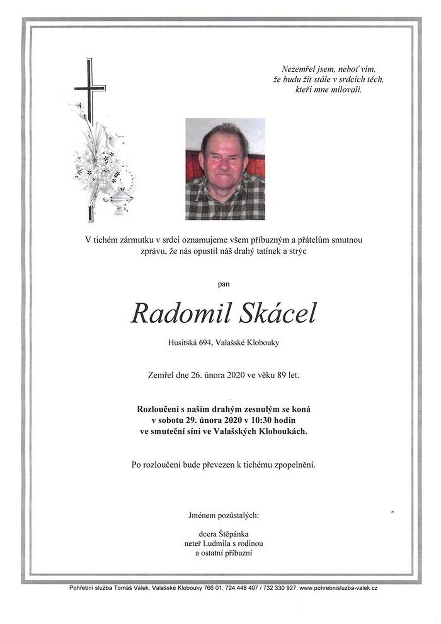 Radomil Skácel