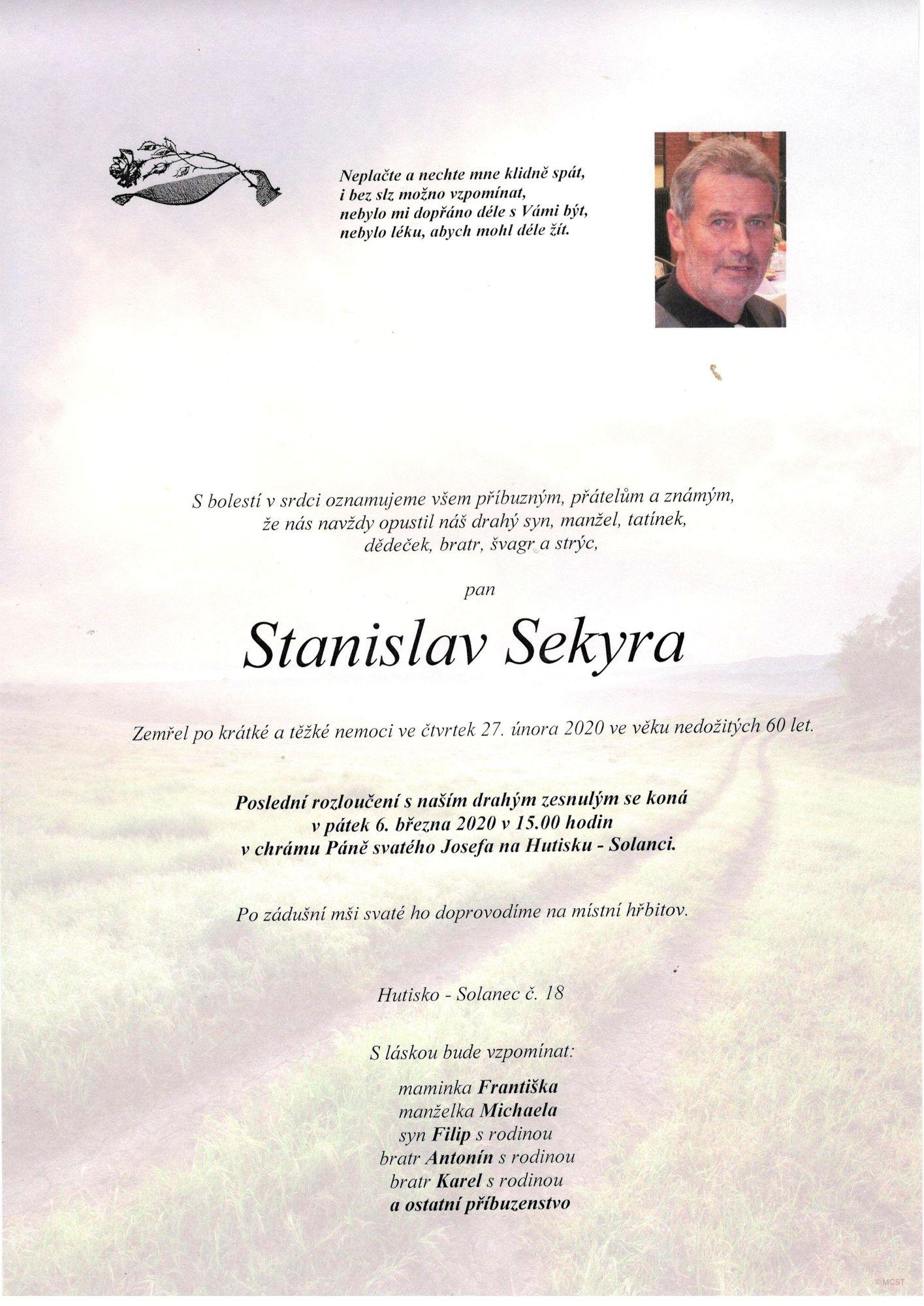 Stanislav Sekyra