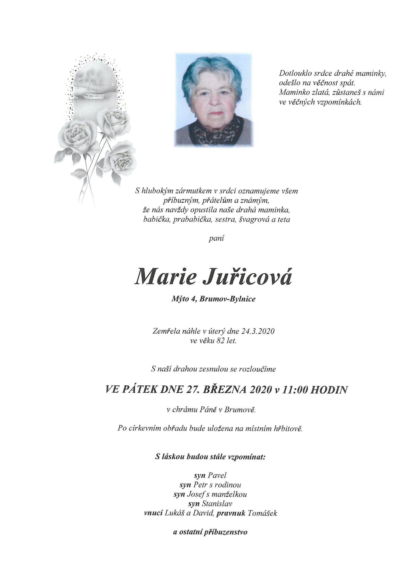 Marie Juřicová