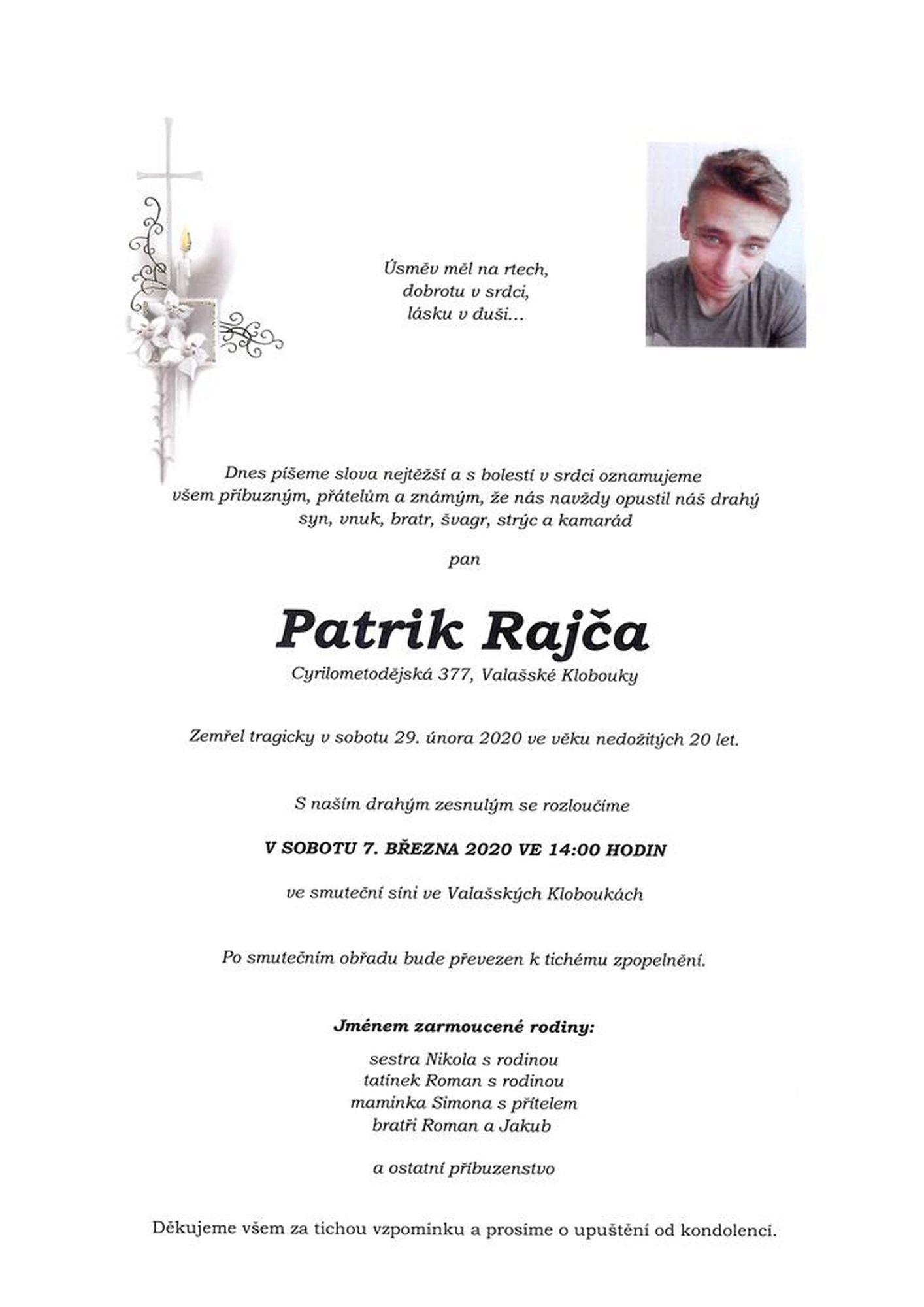 Patrik Rajča