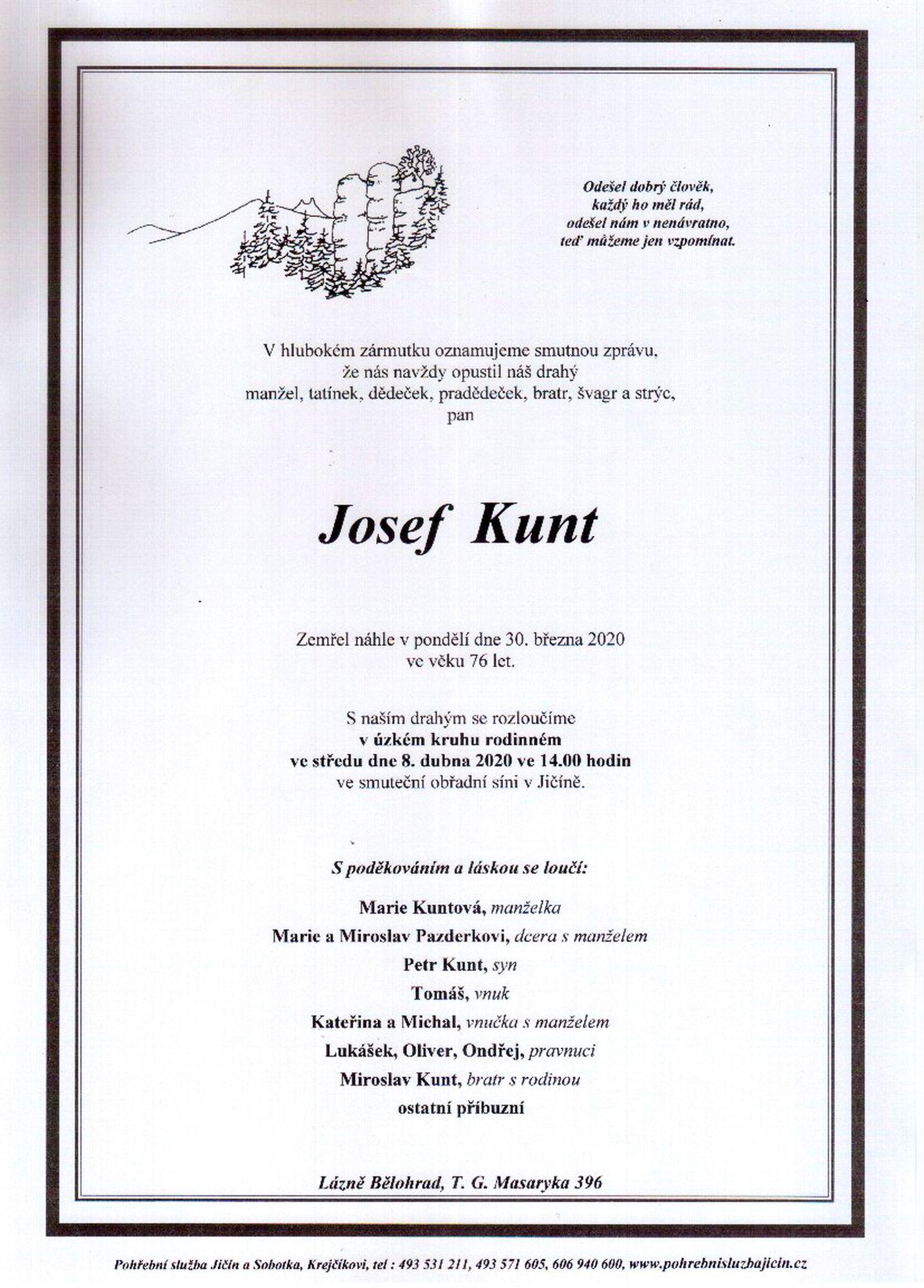 Josef Kunt