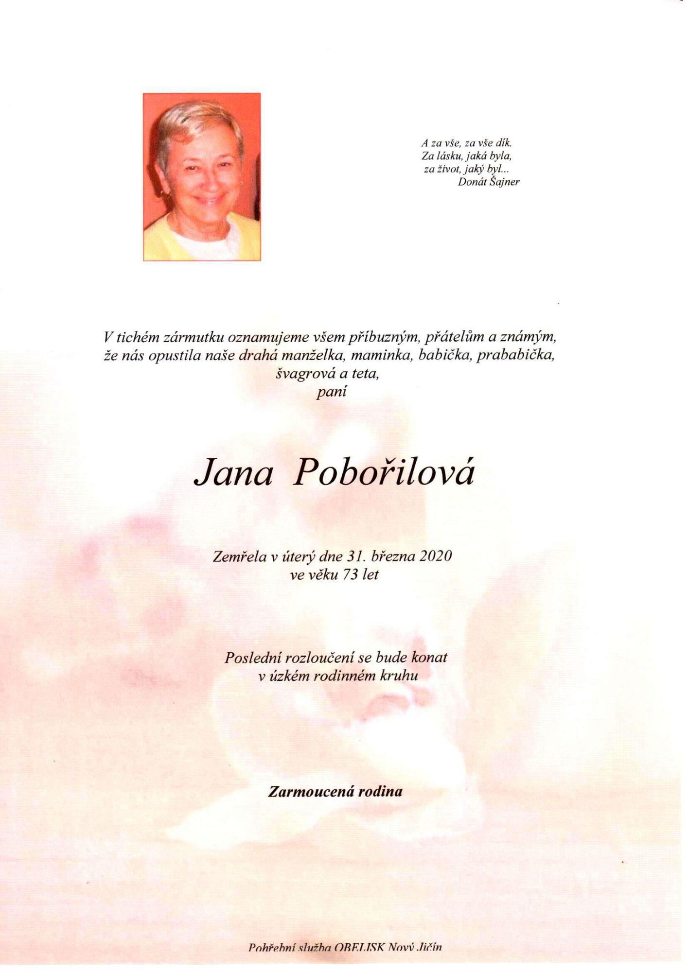 Jana Pobořilová