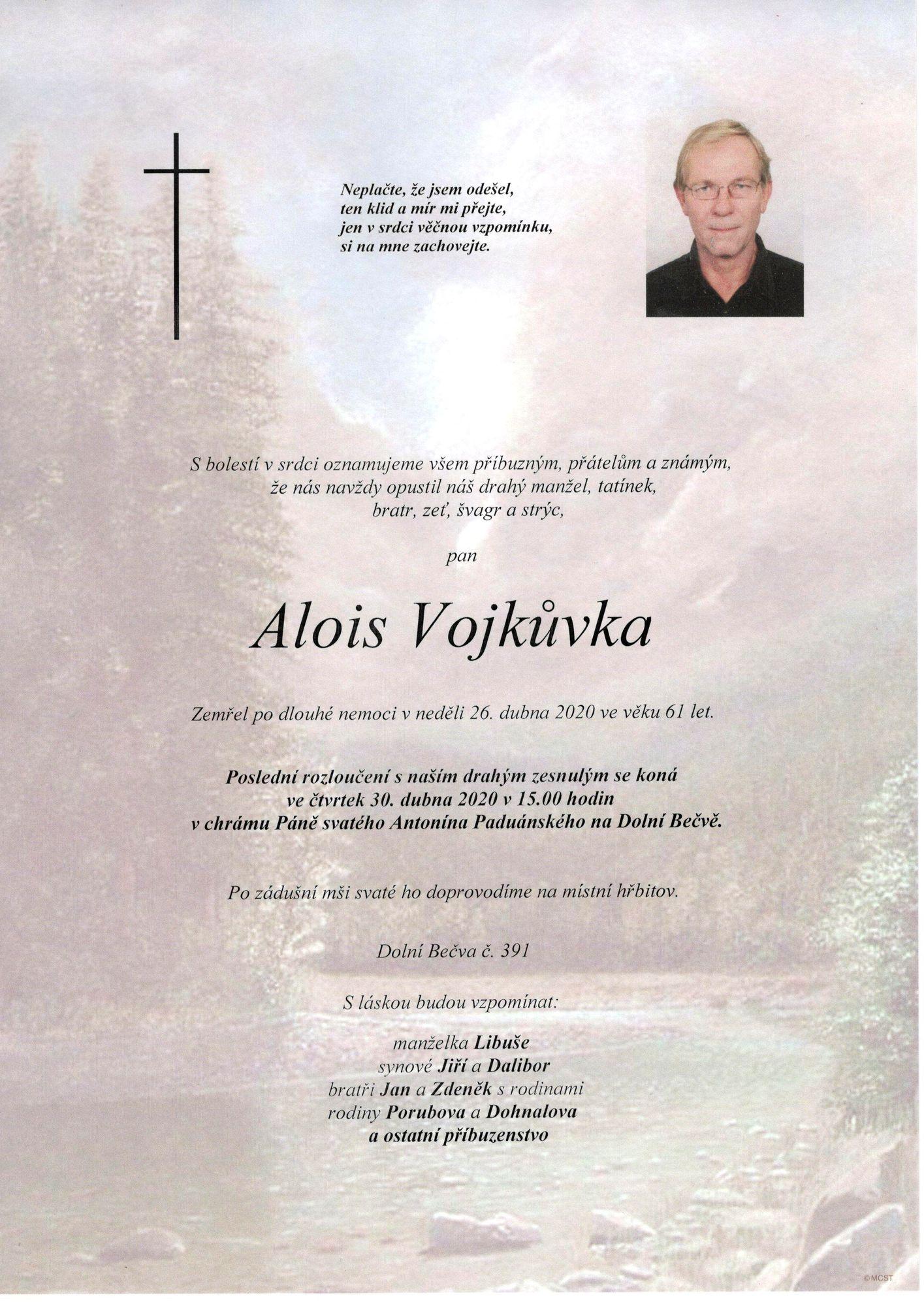 Alois Vojkůvka