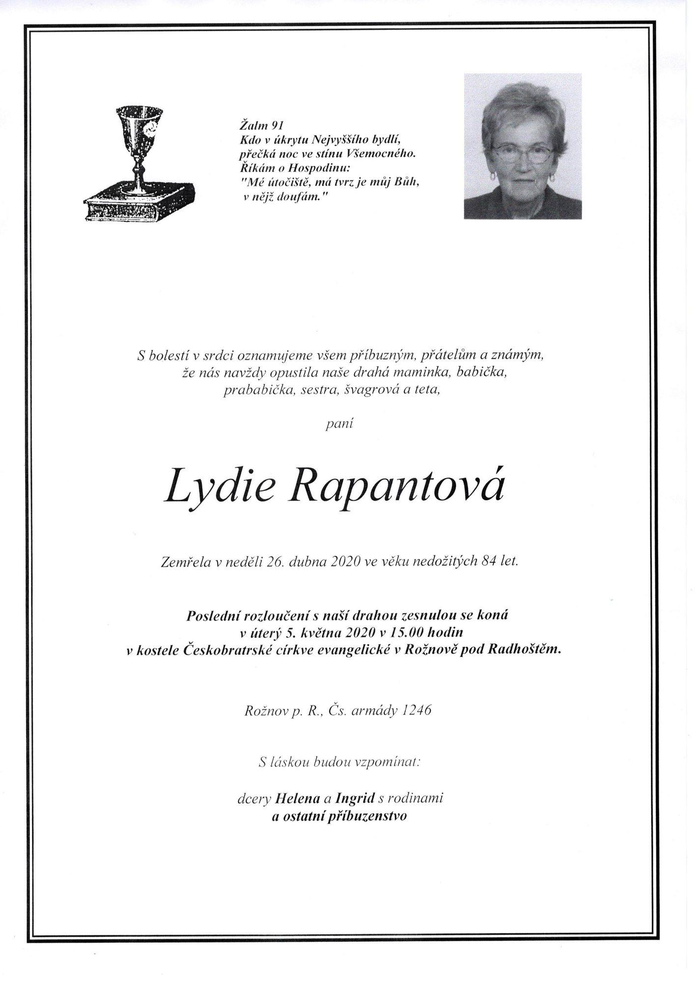 Lydie Rapantová