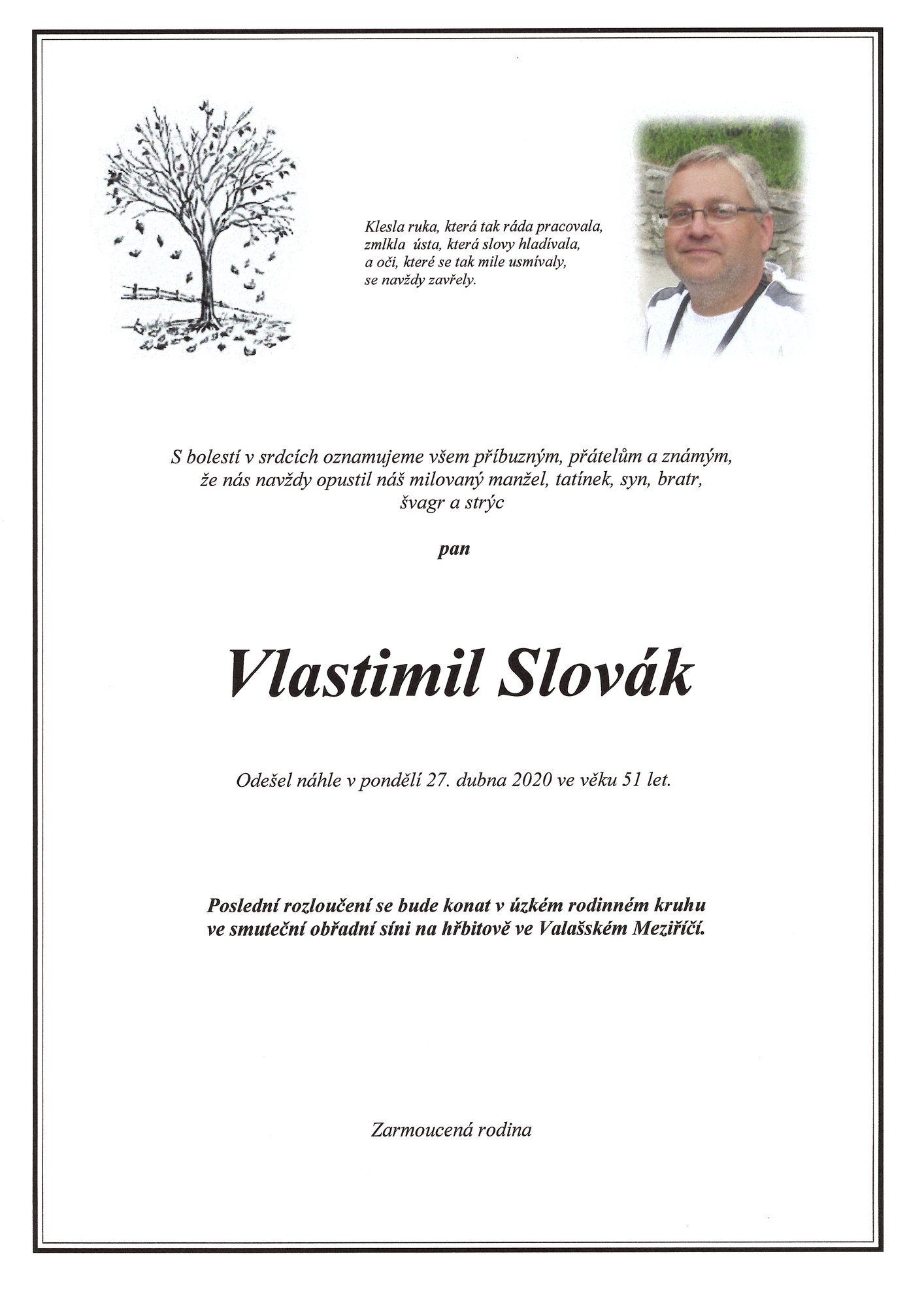Vlastimil Slovák