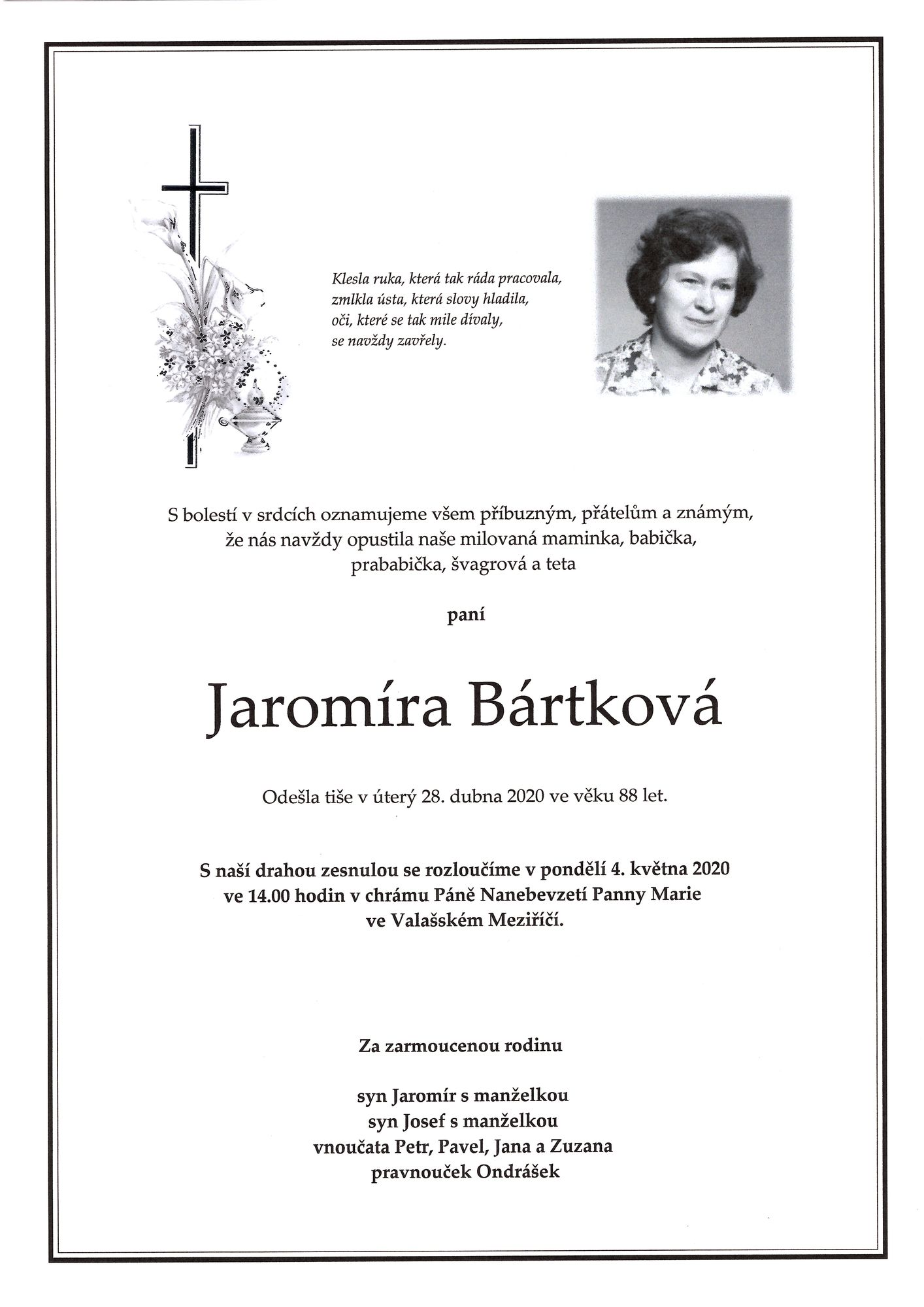Jaromíra Bártková