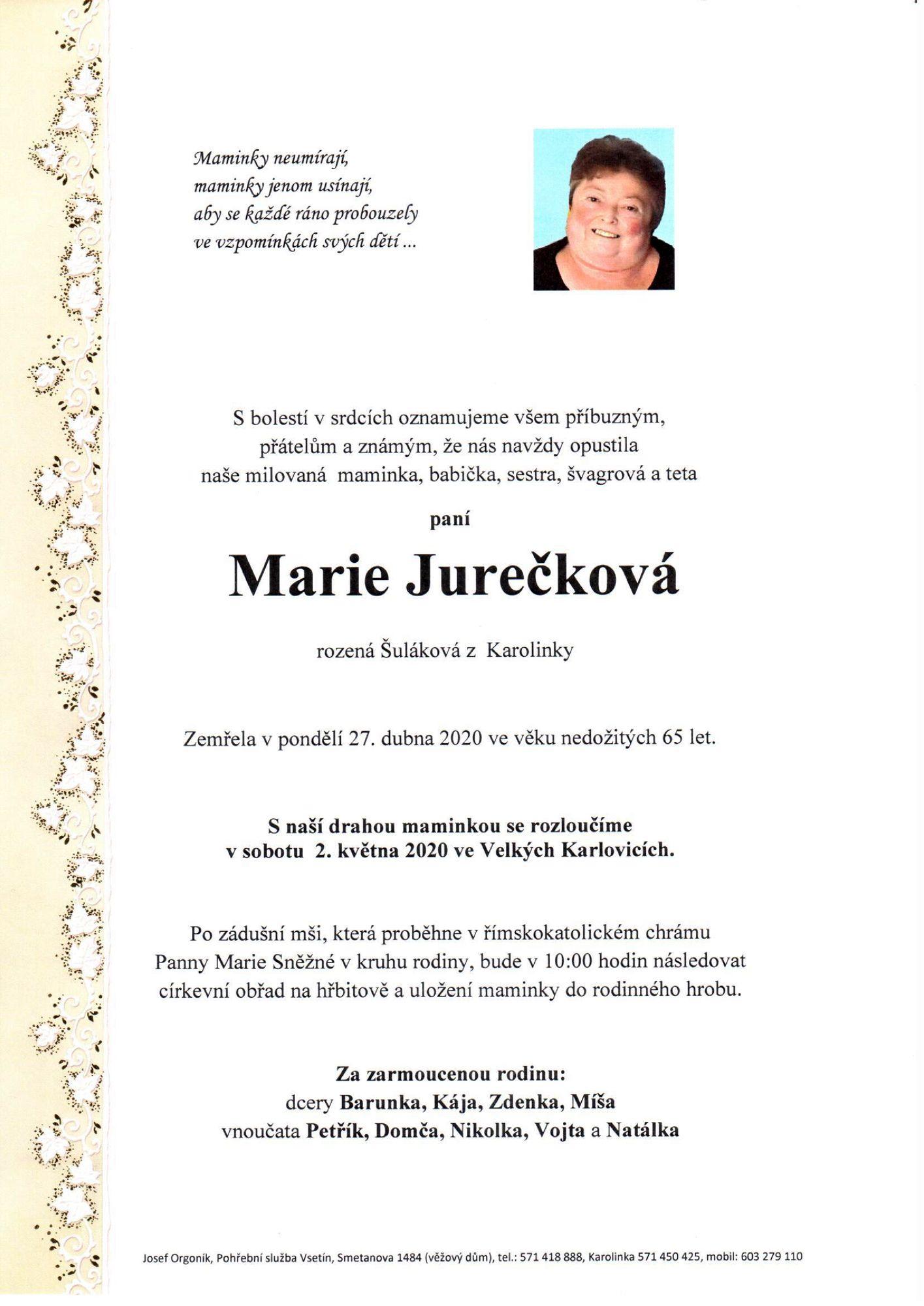 Marie Jurečková