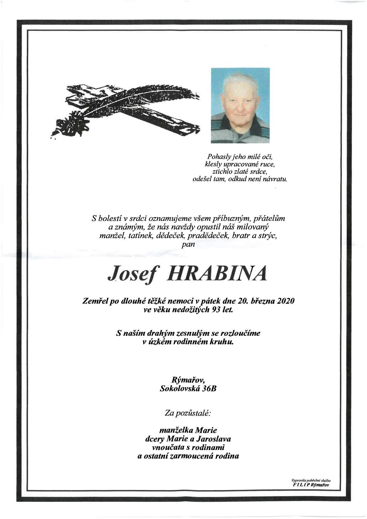 Josef Hrabina
