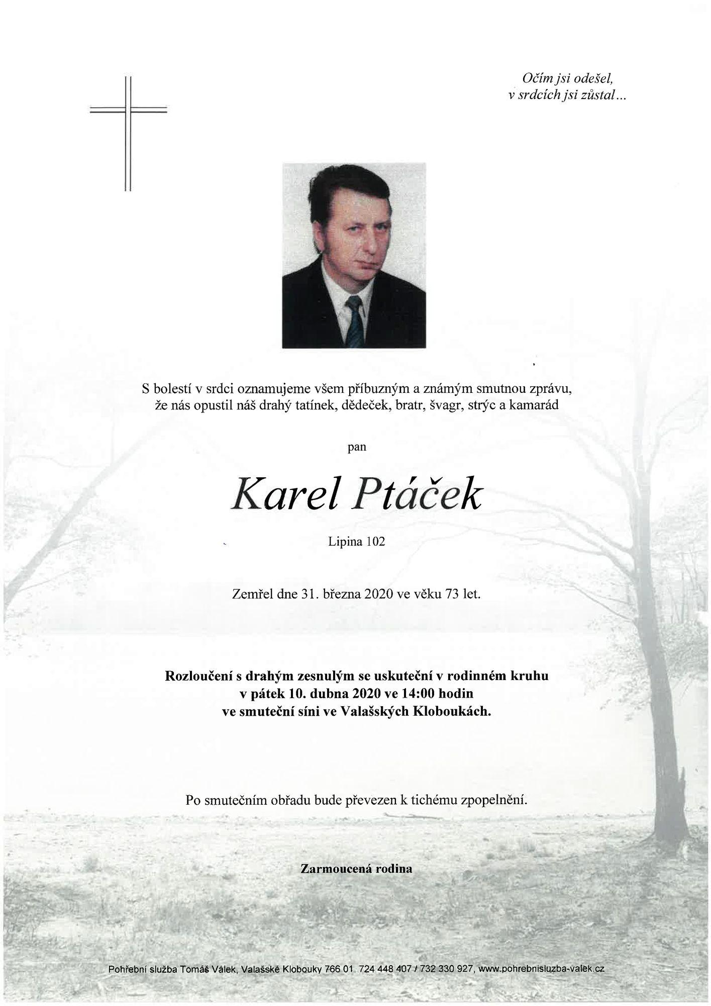 Karel Ptáček