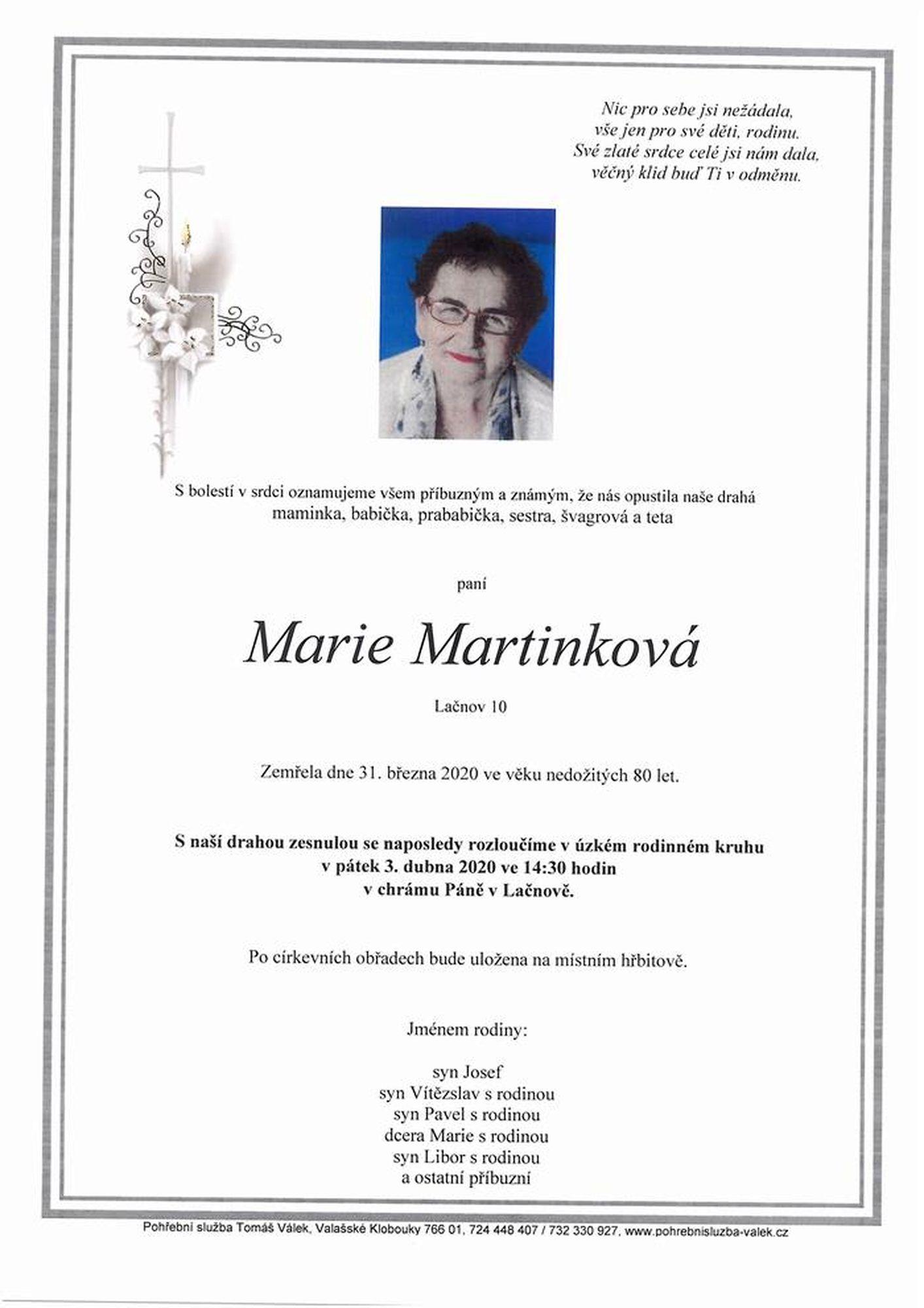 Marie Martinková