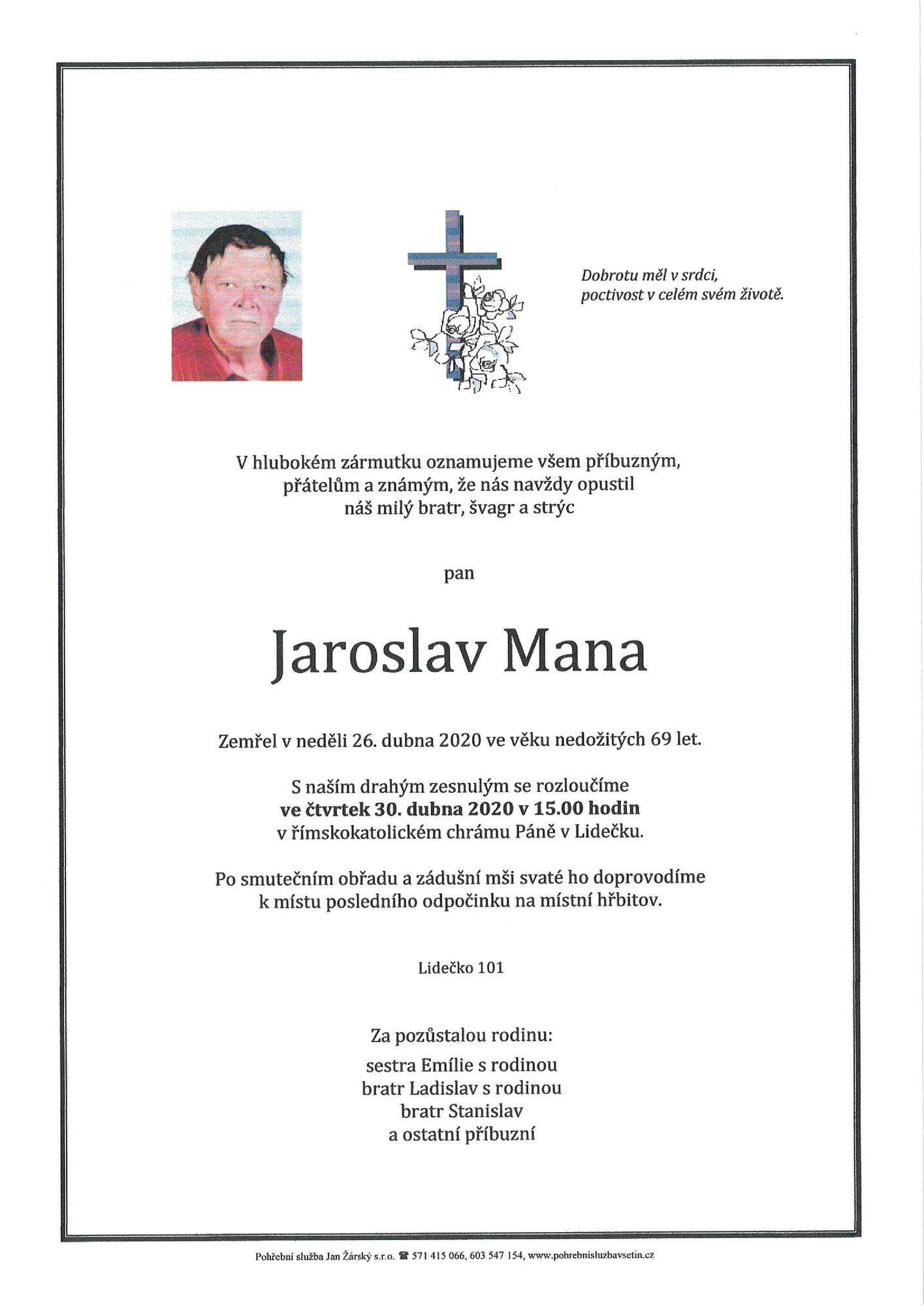 Jaroslav Mana