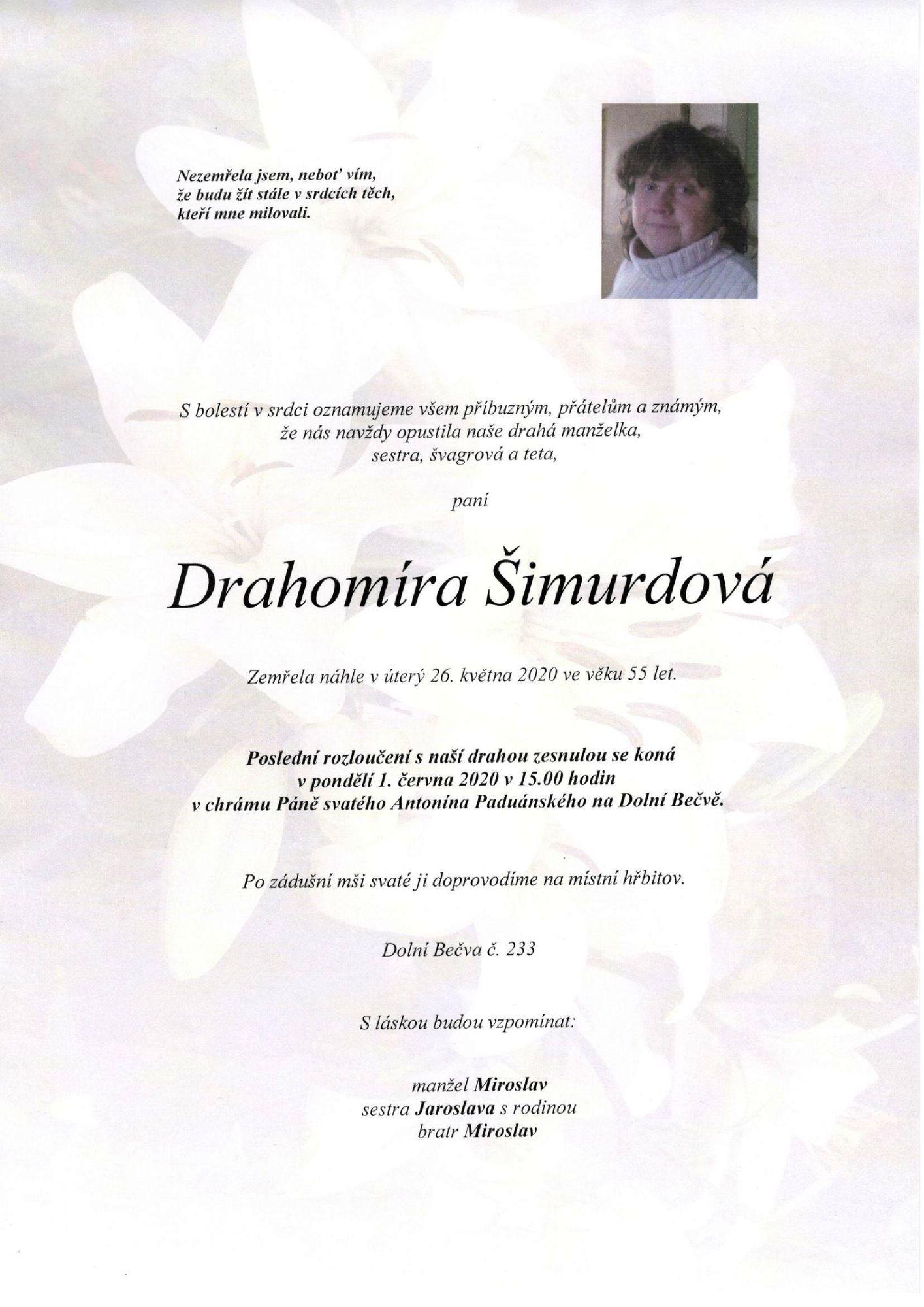 Drahomíra Šimurdová