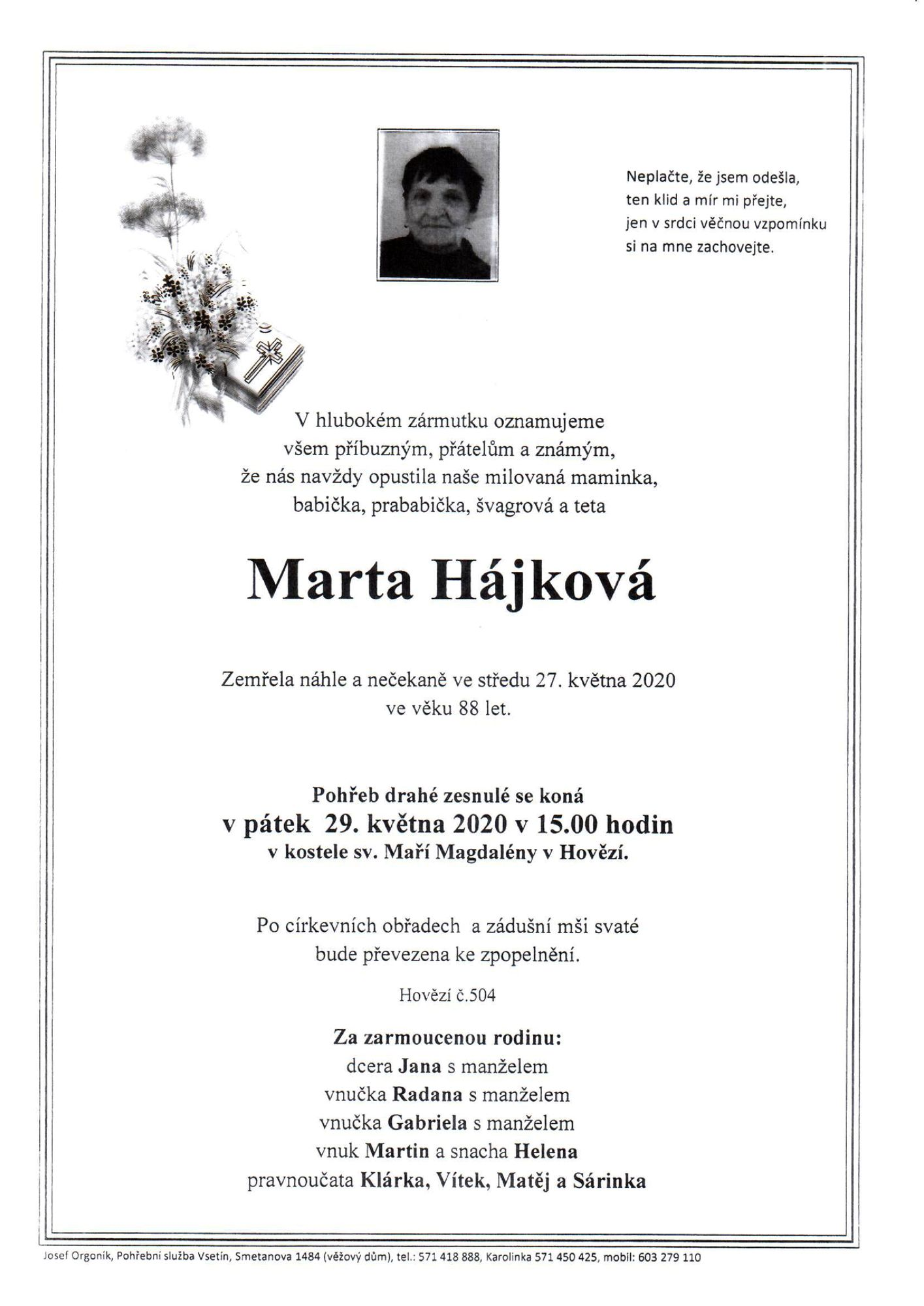 Marta Hájková