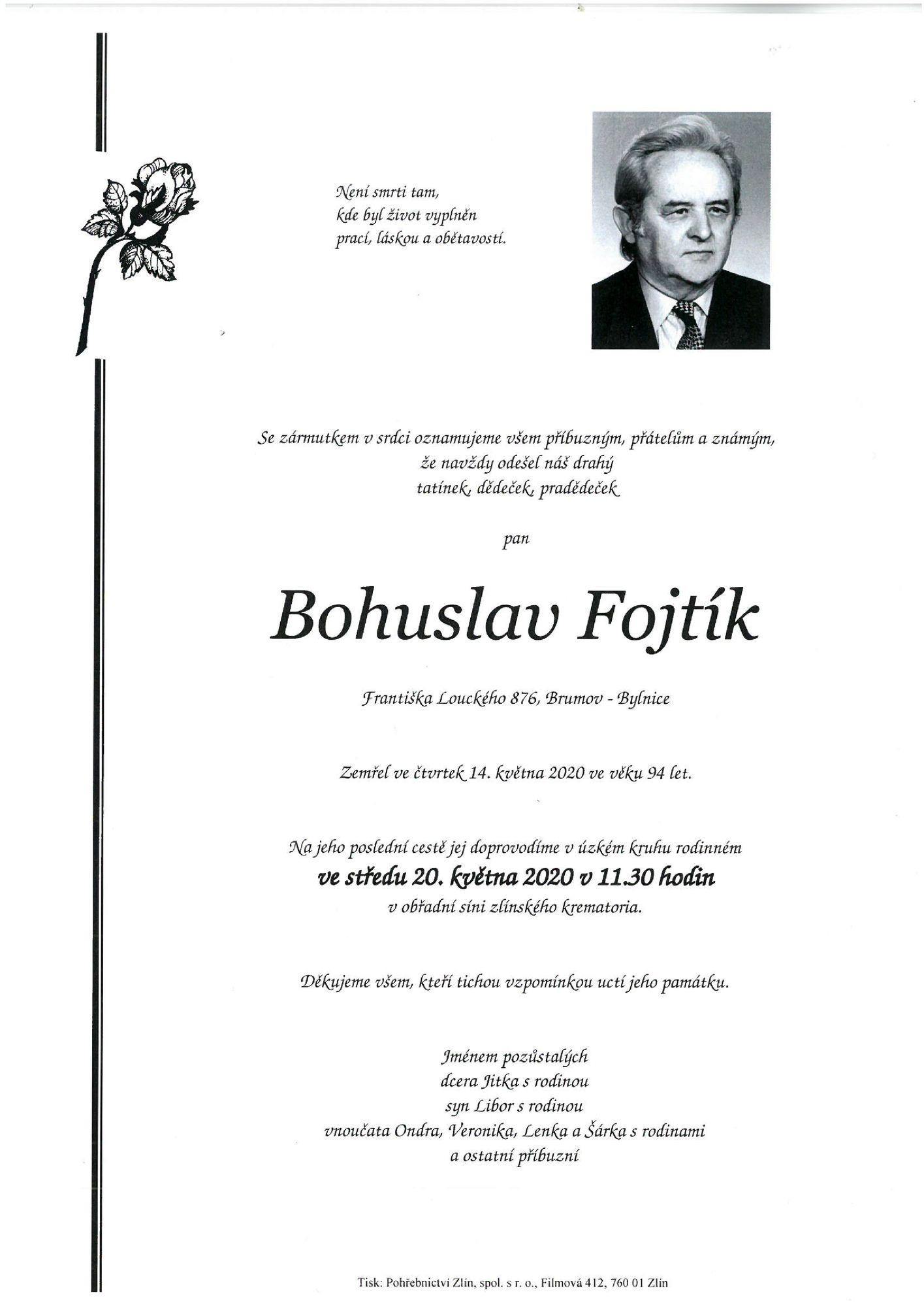 Bohuslav Fojtík