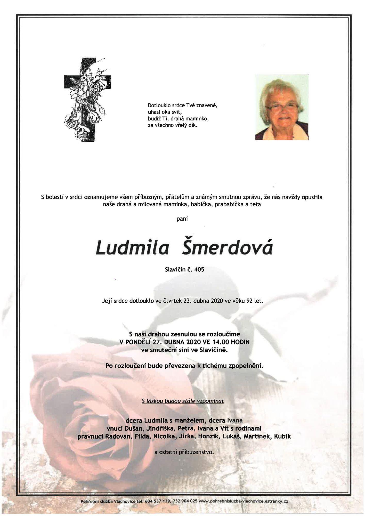 Ludmila Šmerdová