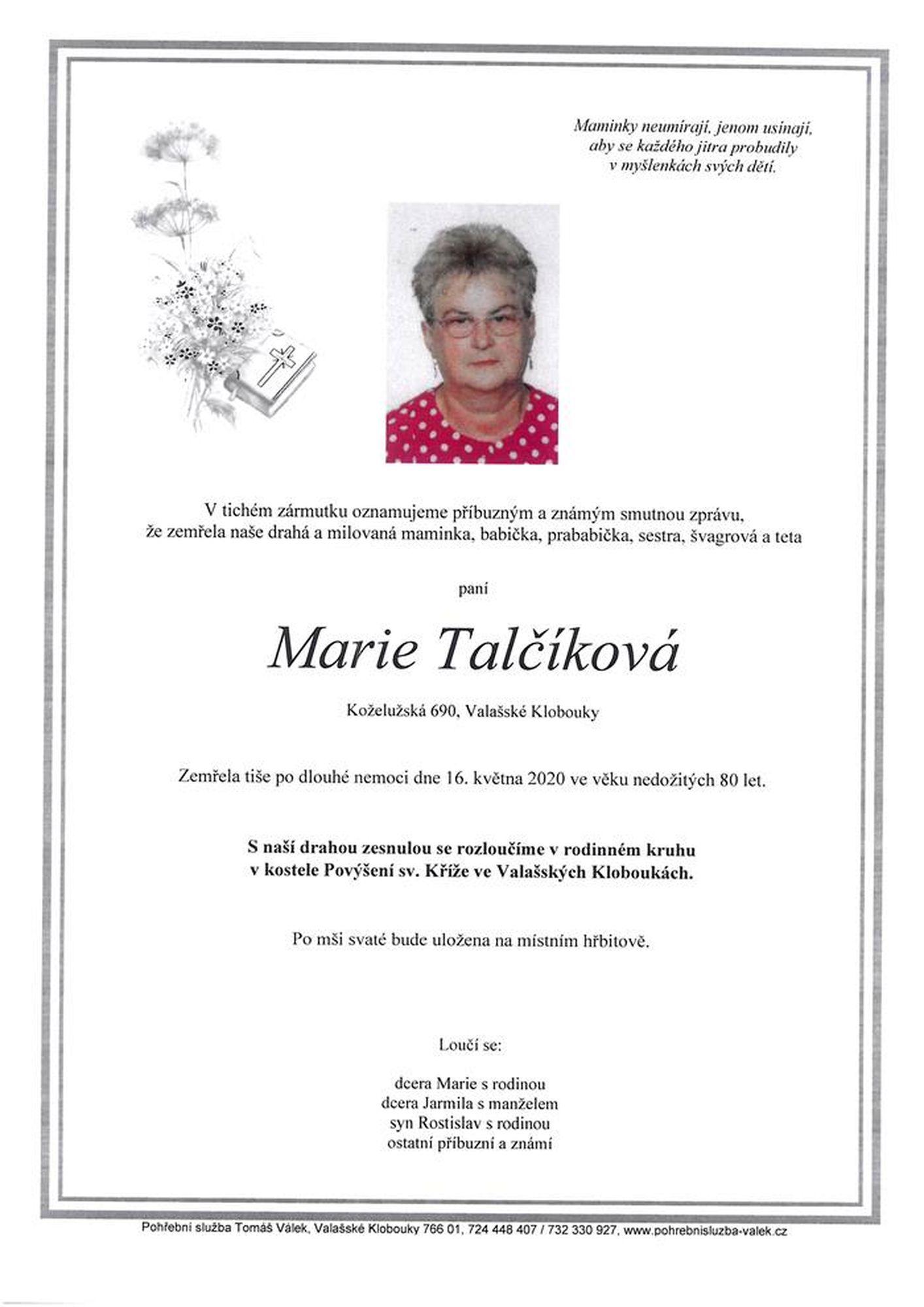 Marie Talčíková