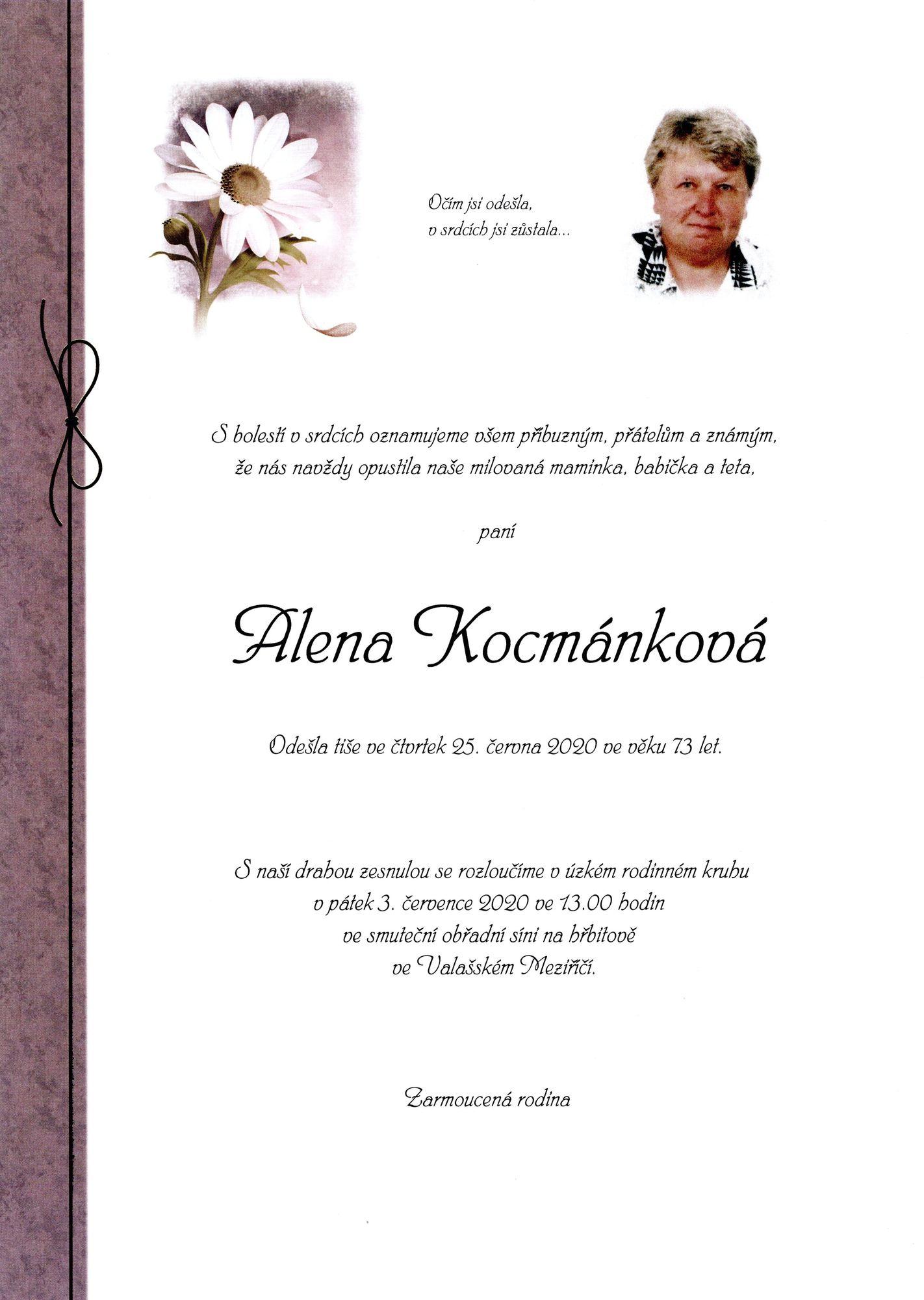 Alena Kocmánková
