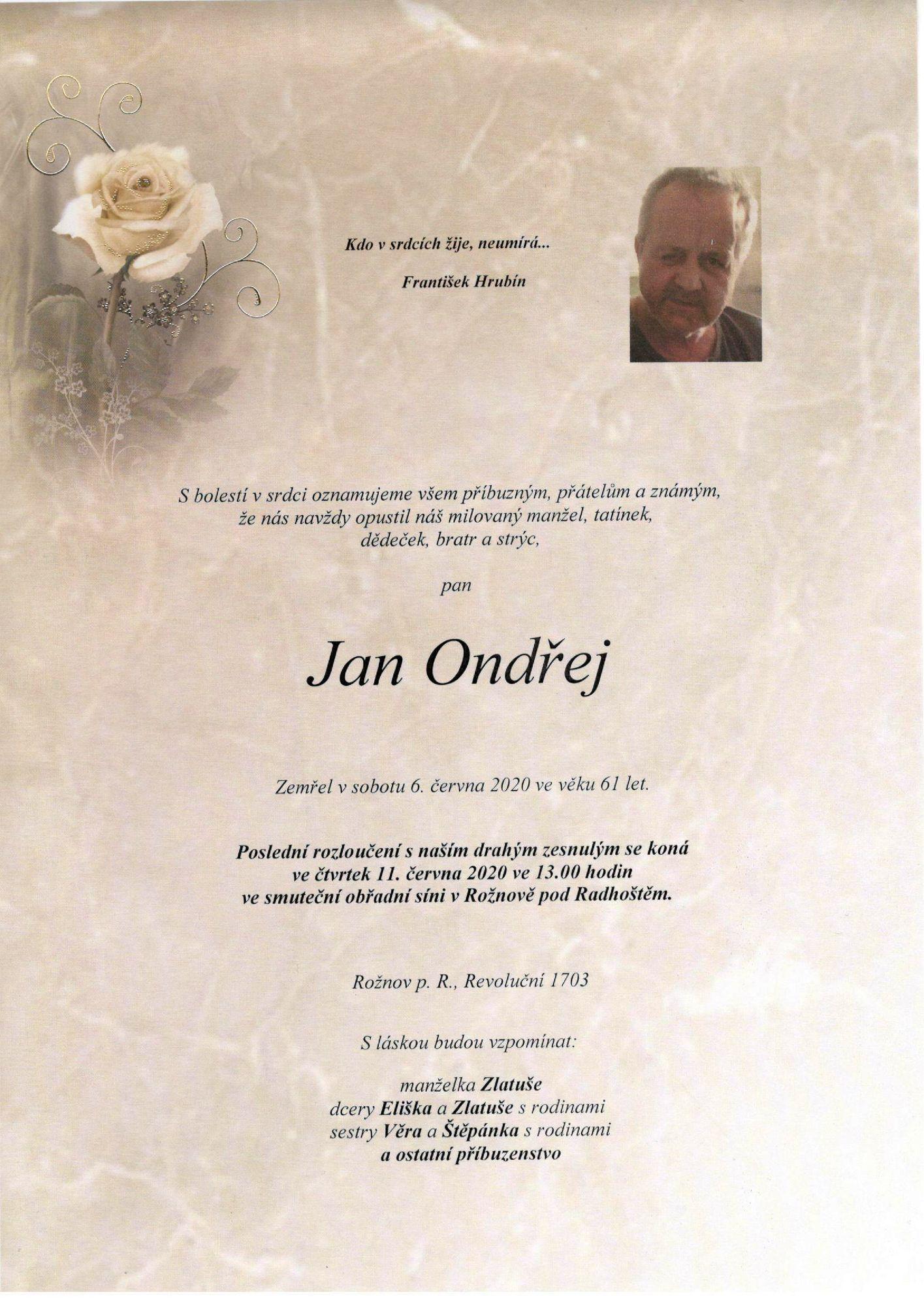 Jan Ondřej