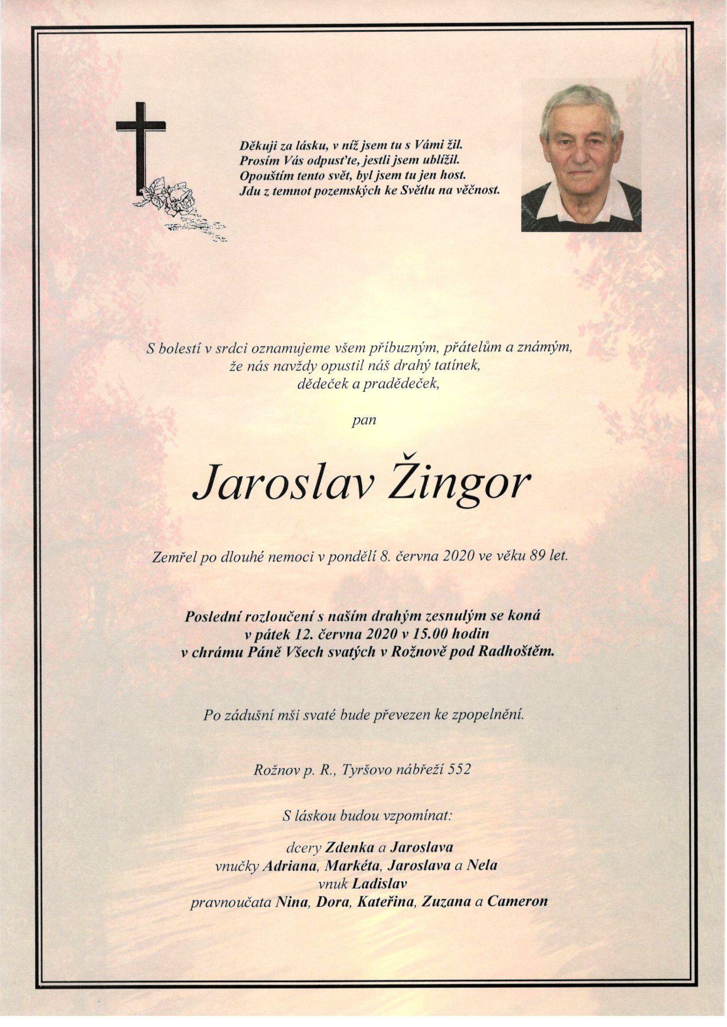 Jaroslav Žingor