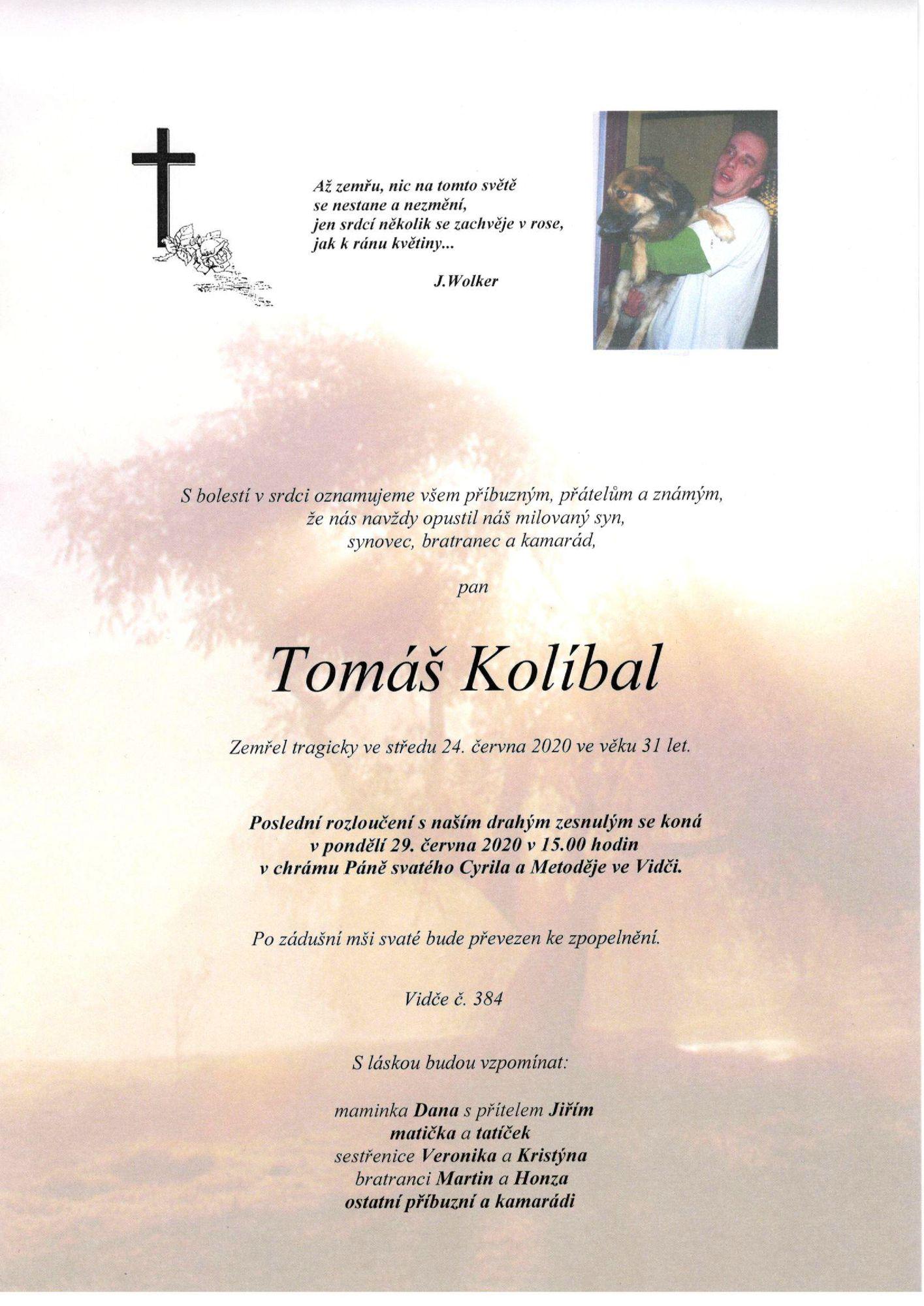 Tomáš Kolíbal