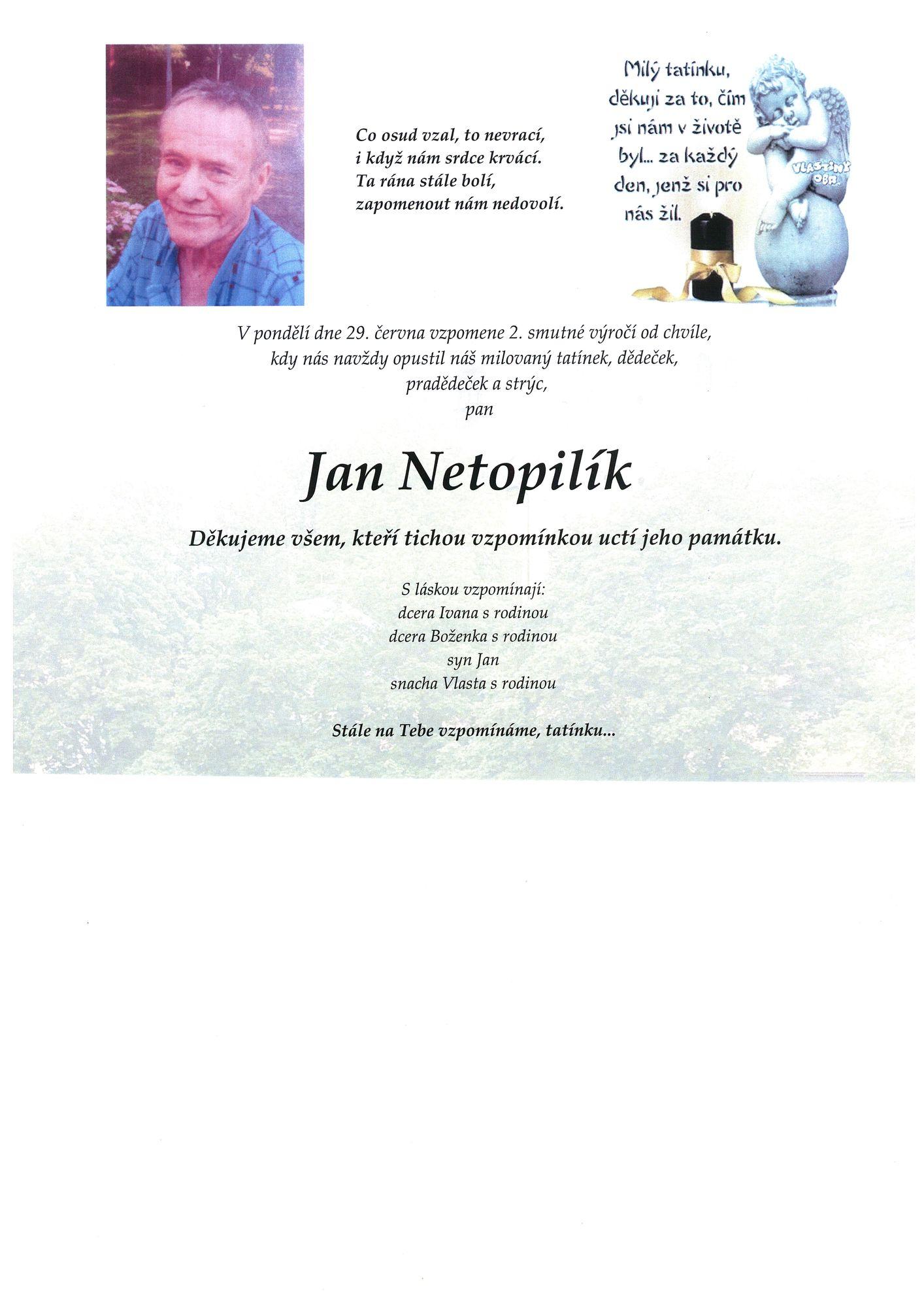 Jan Netopilík