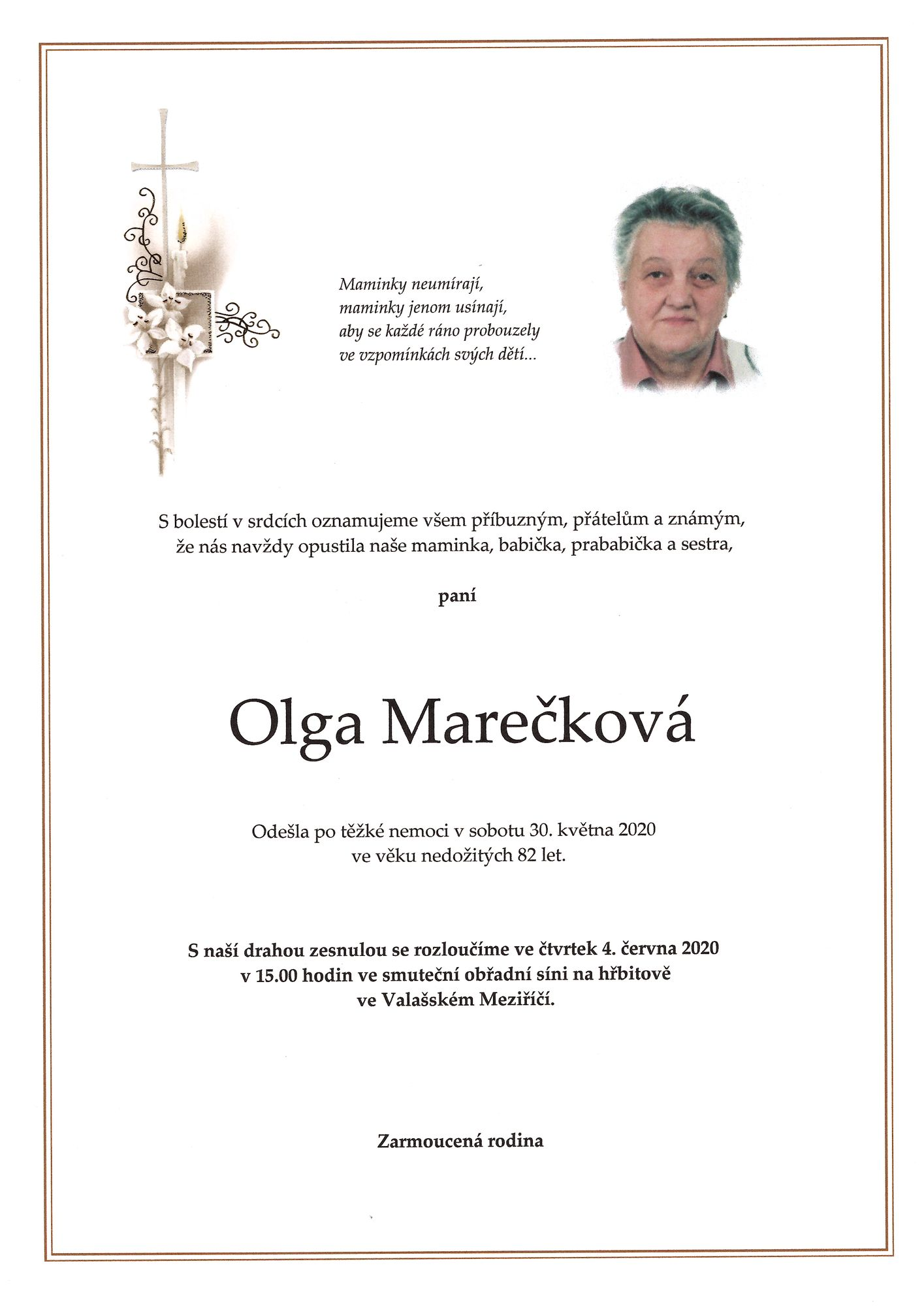 Olga Marečková