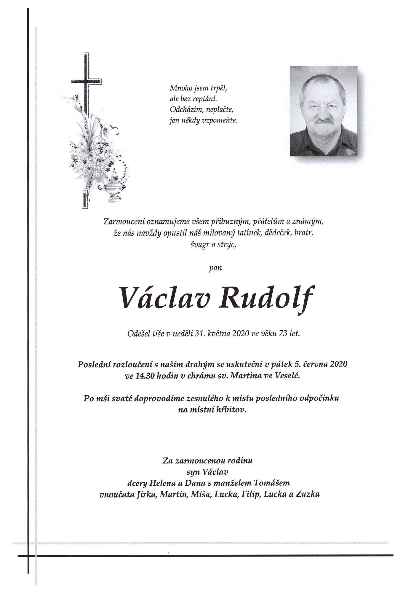 Václav Rudolf