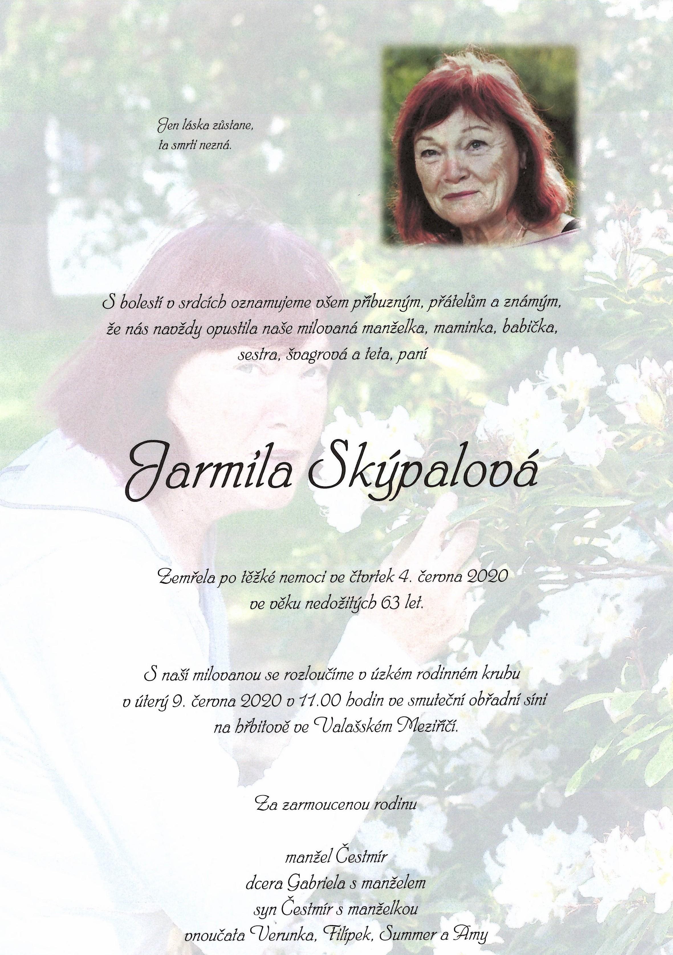 Jarmila Skýpalová