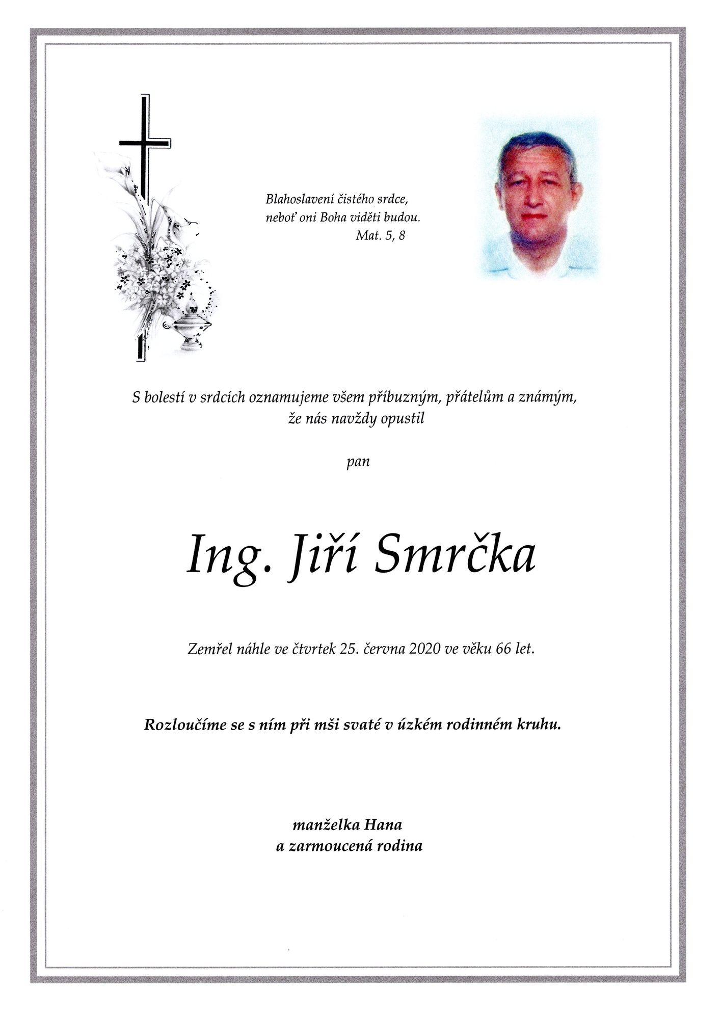 Ing. Jiří Smrčka