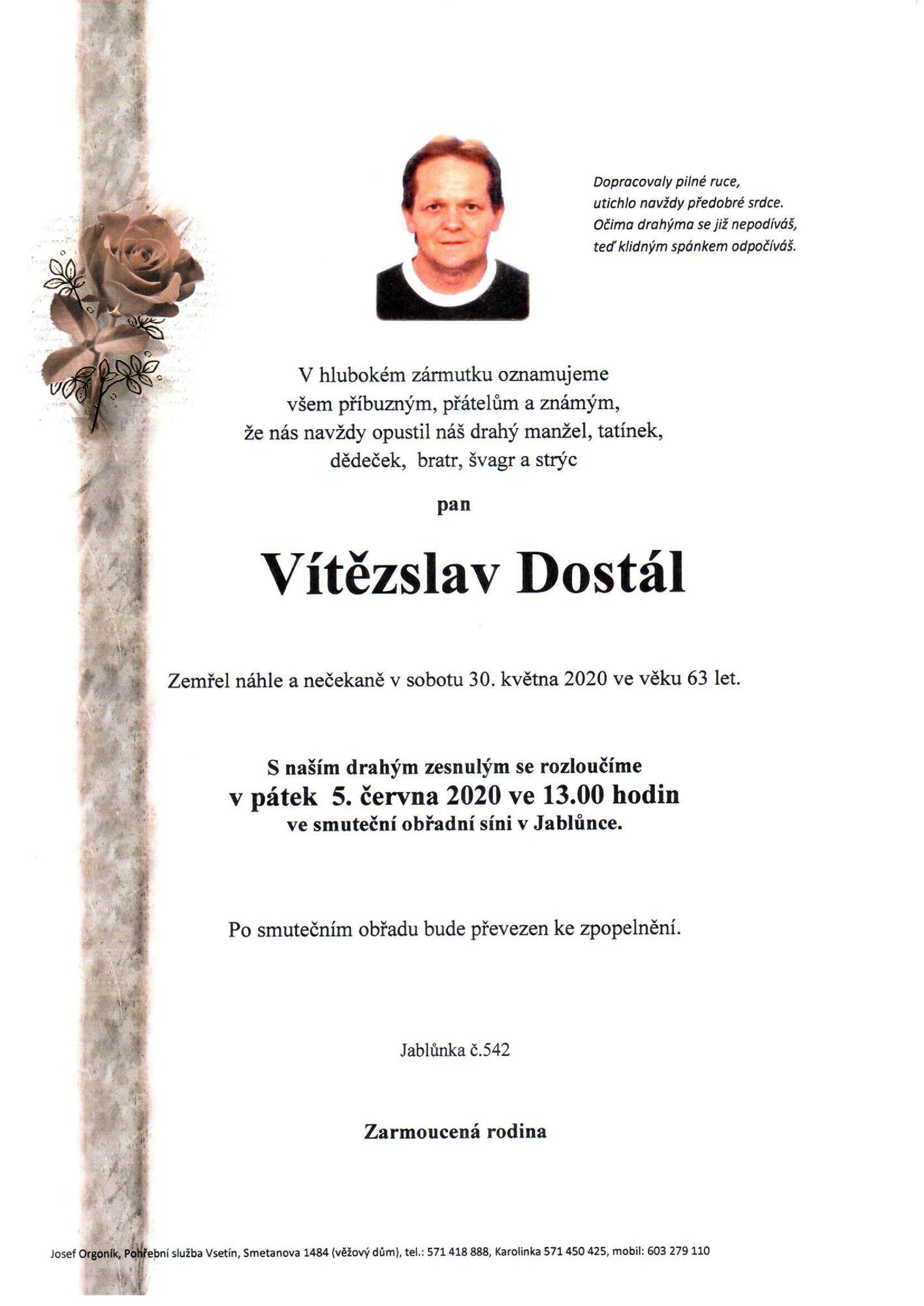 Vítězslav Dostál