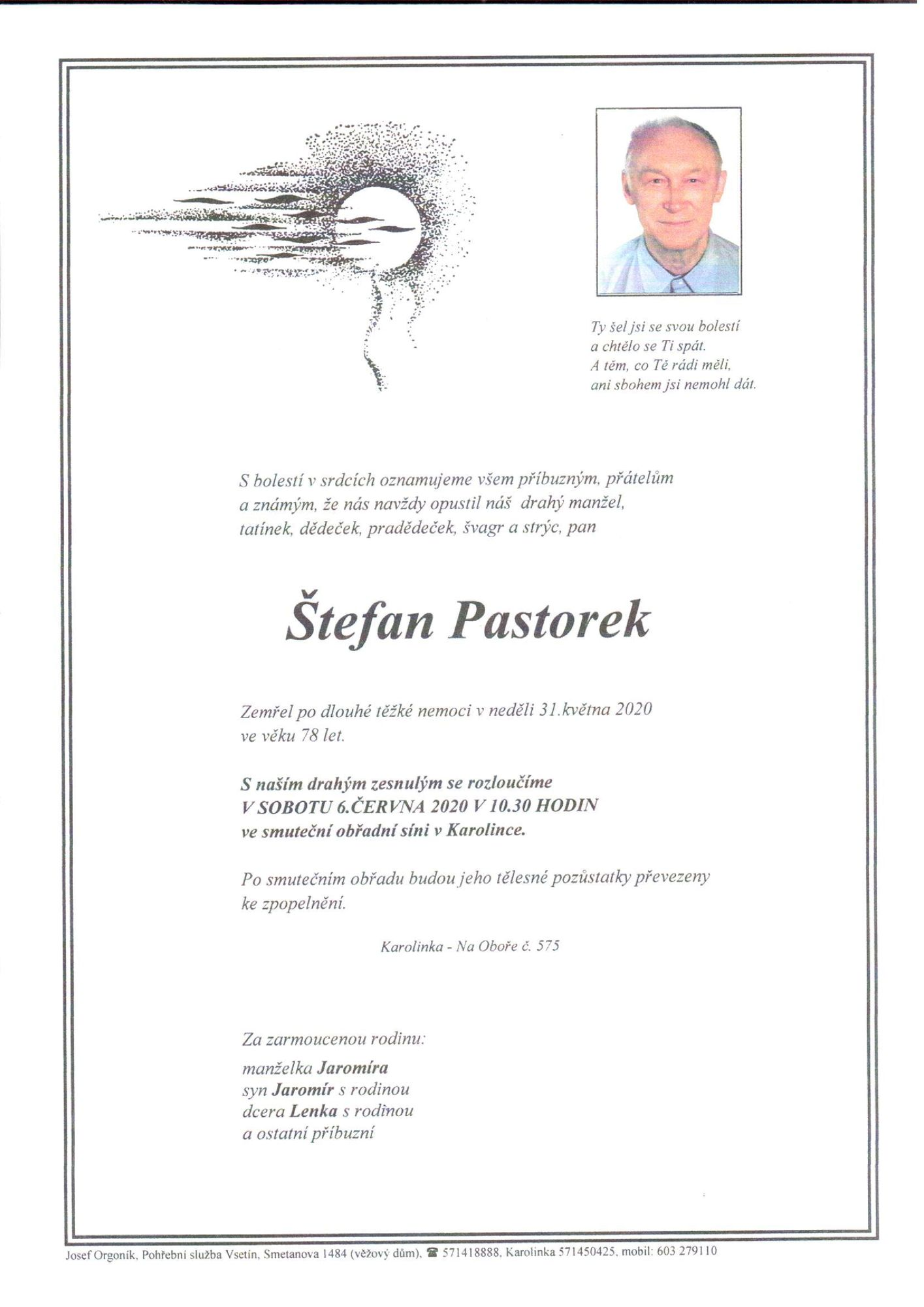 Štefan Pastorek