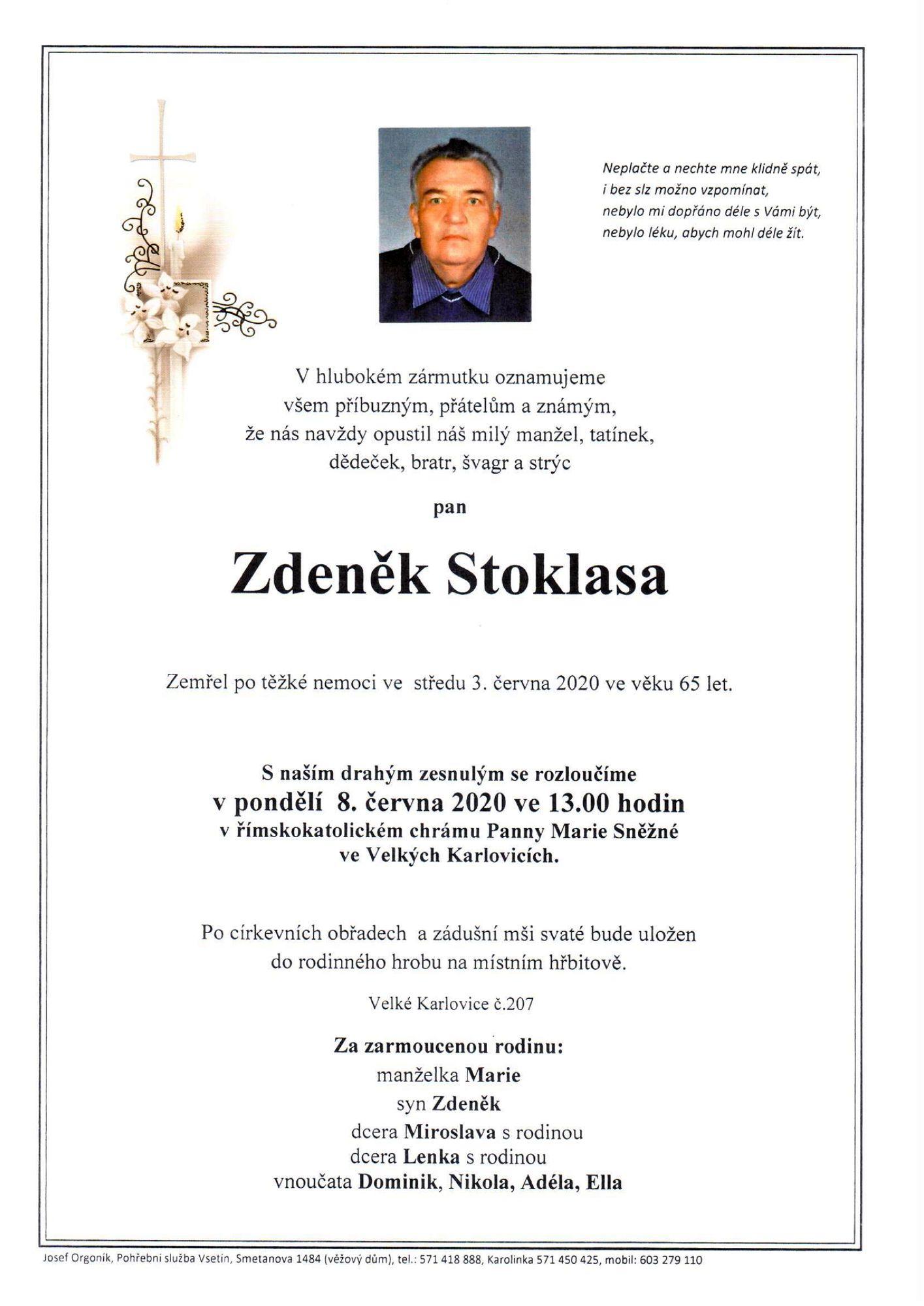 Zdeněk Stoklasa