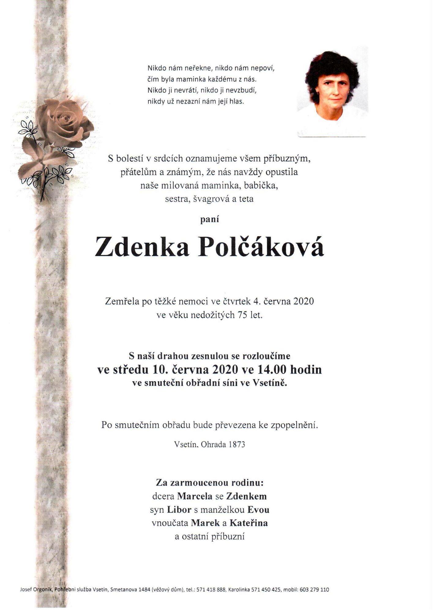 Zdenka Polčáková