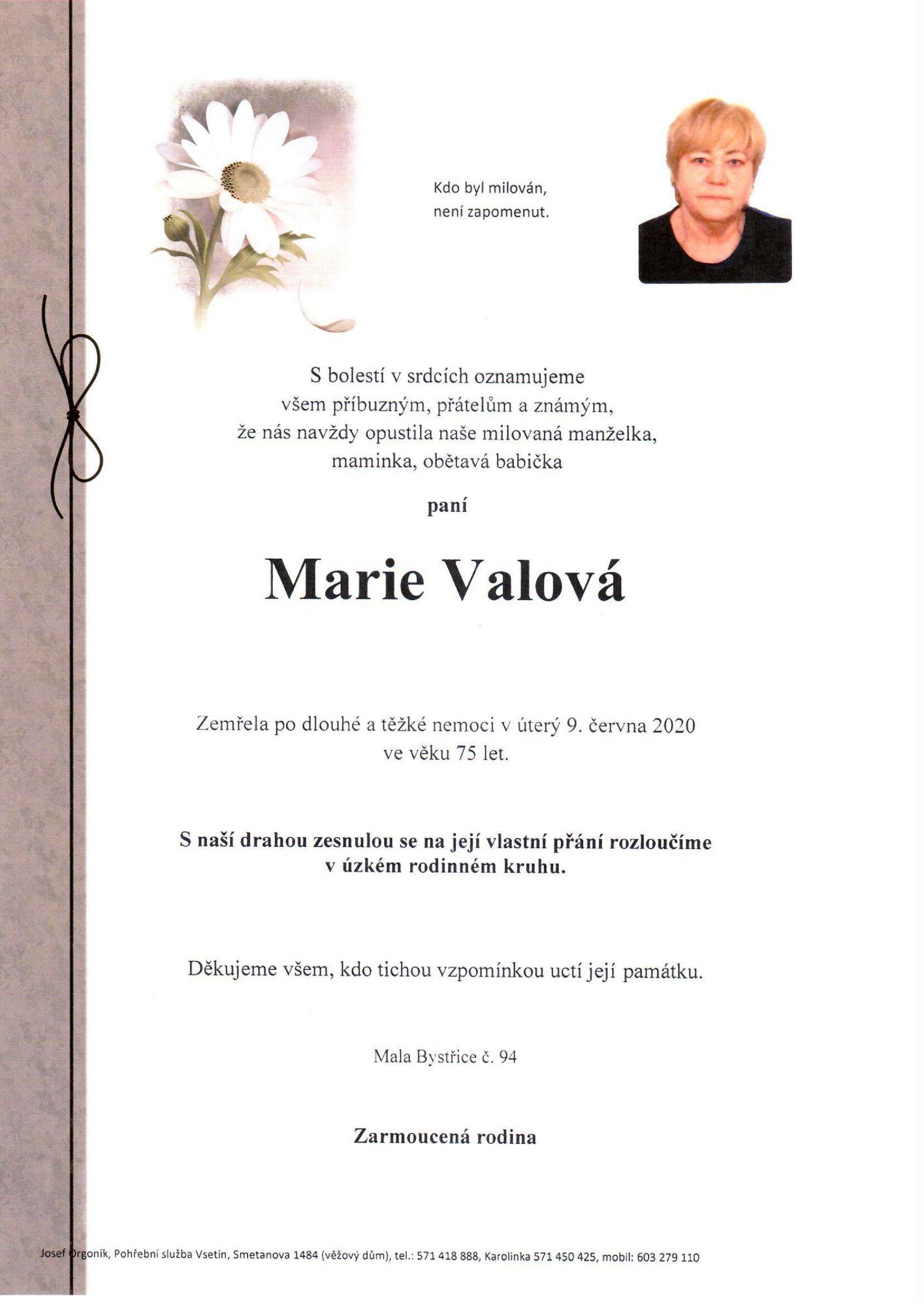 Marie Valová
