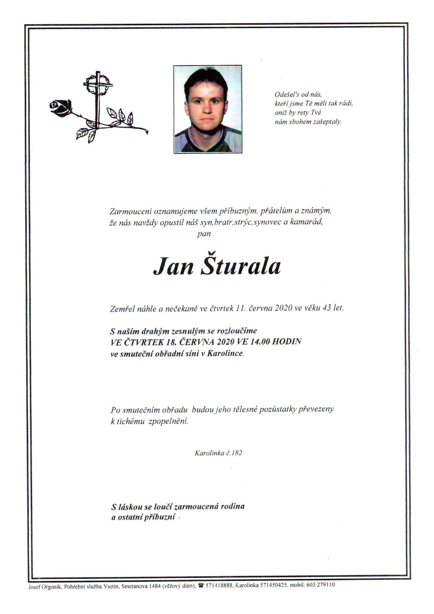 Jan Šturala