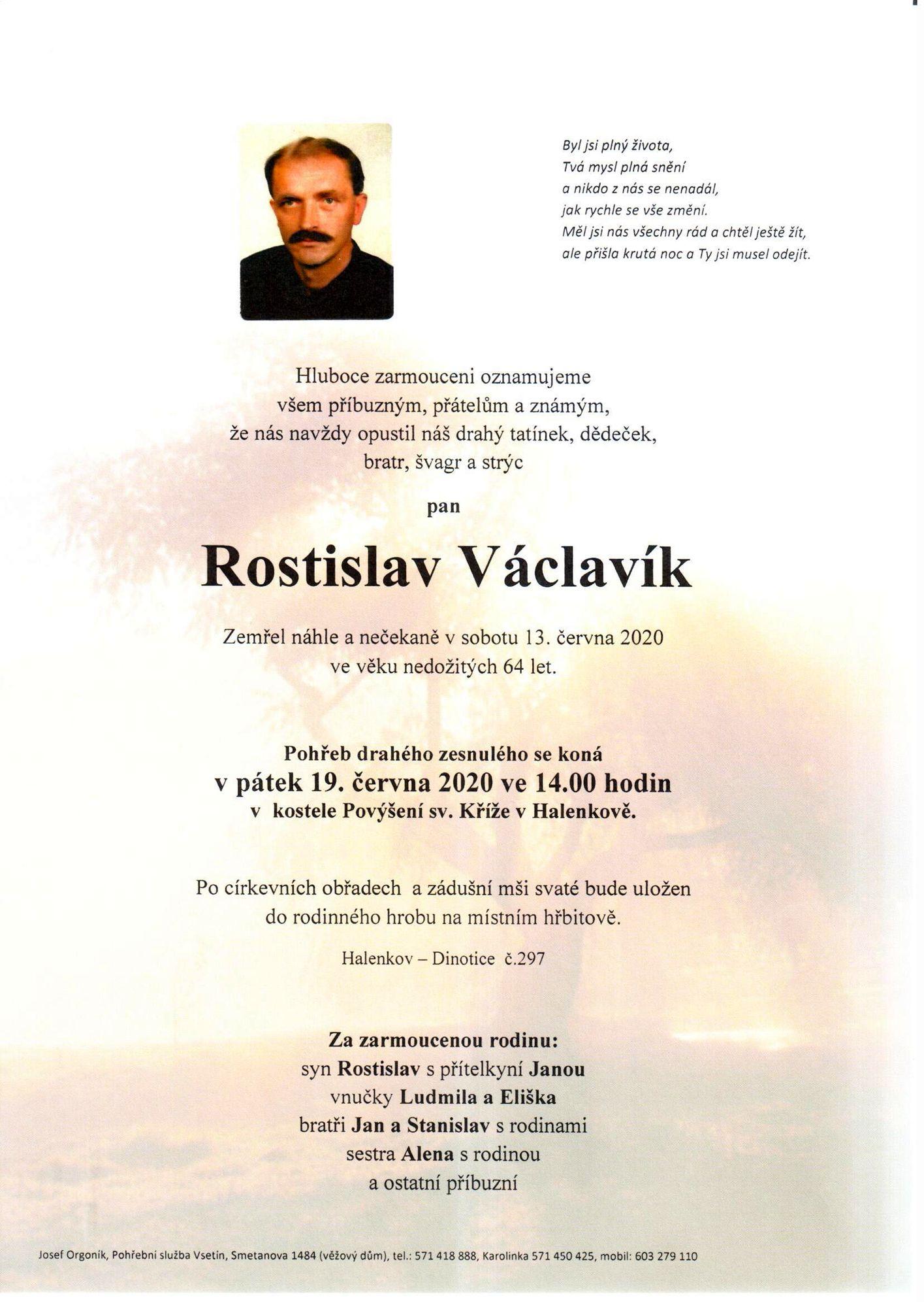 Rostislav Václavík