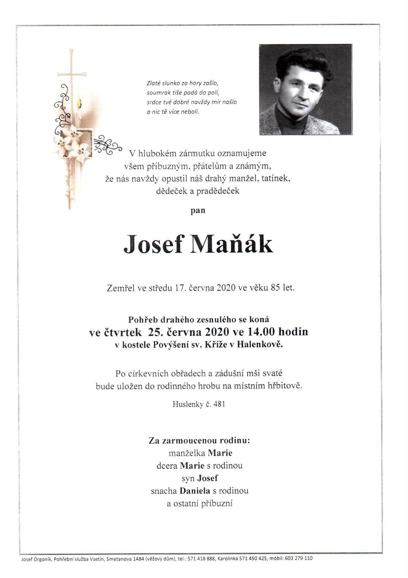 Josef Maňák